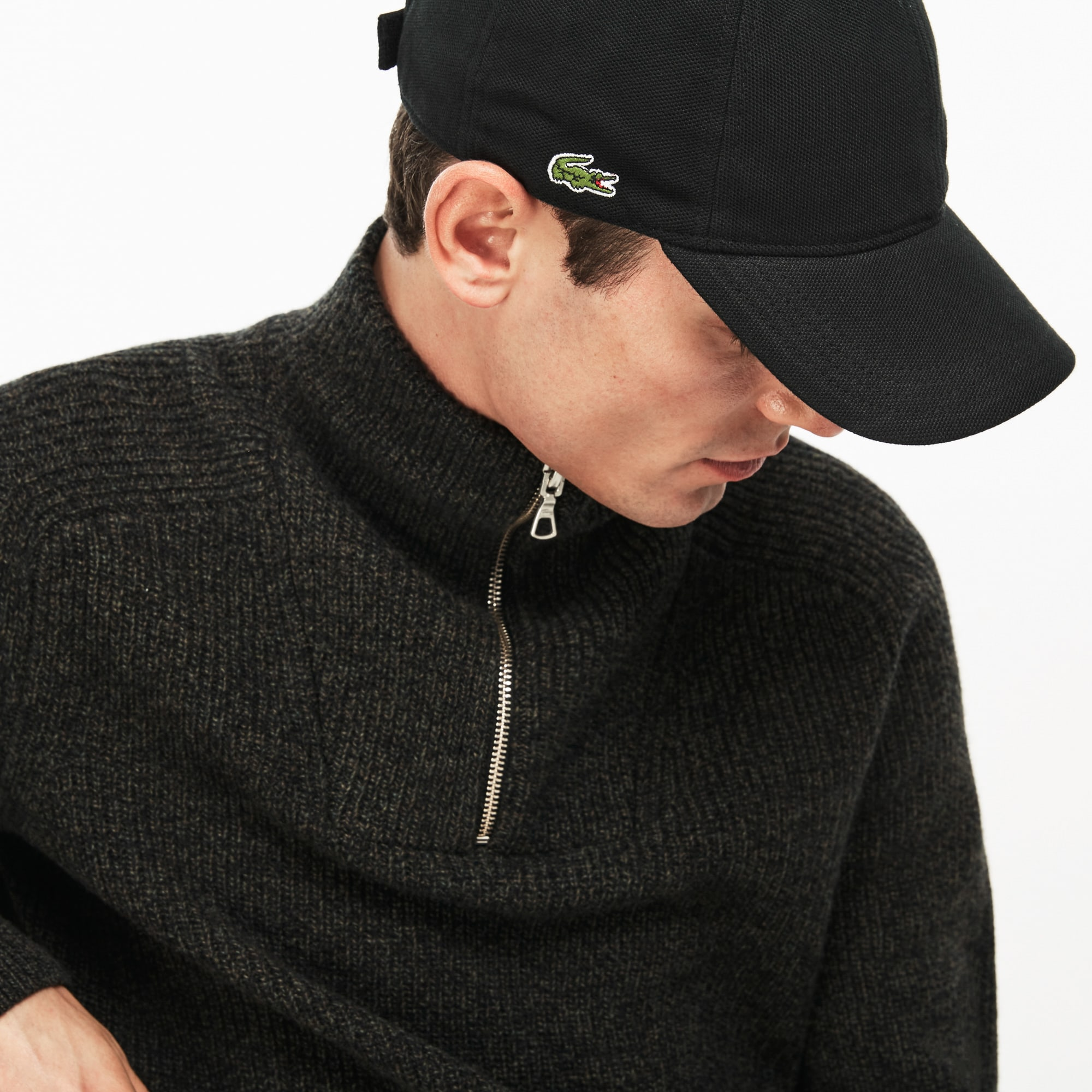 Men's Cotton piqué cap