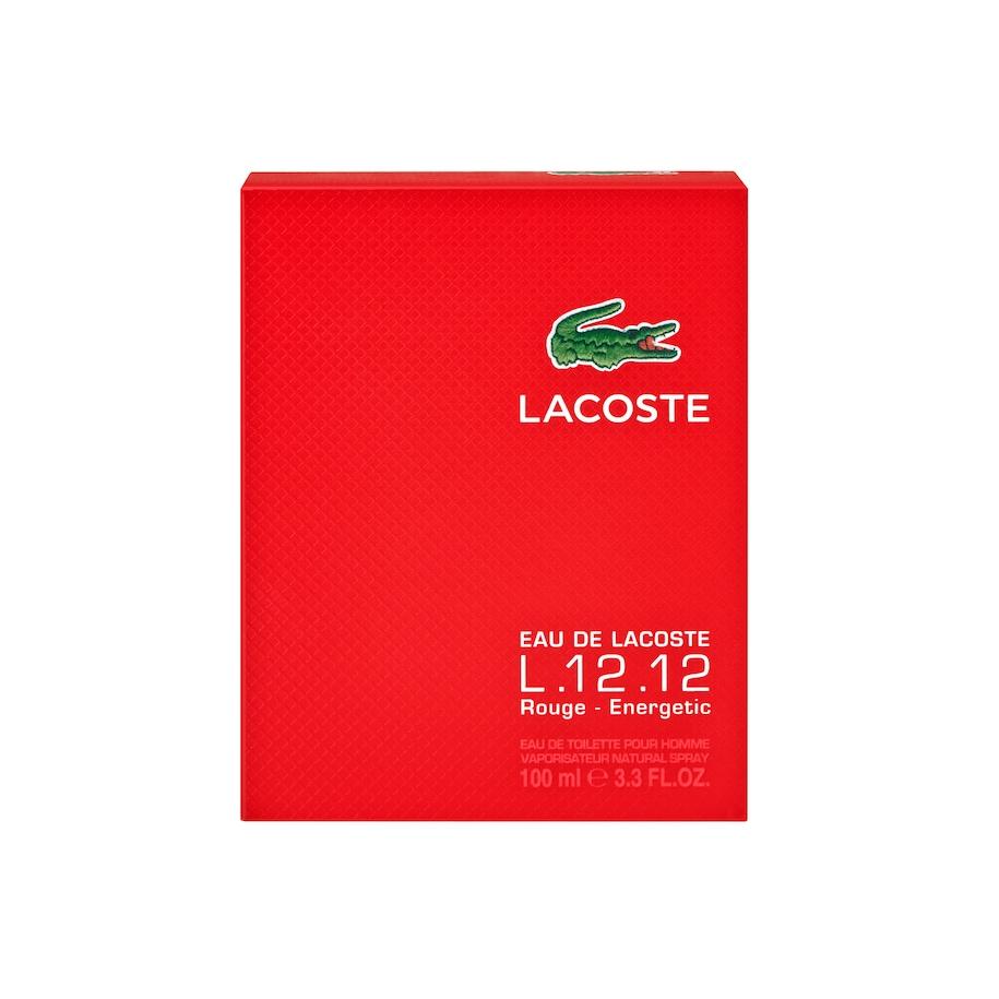Eau De Lacoste L 12 12 Rouge Eau De Toilette 100ml Lacoste
