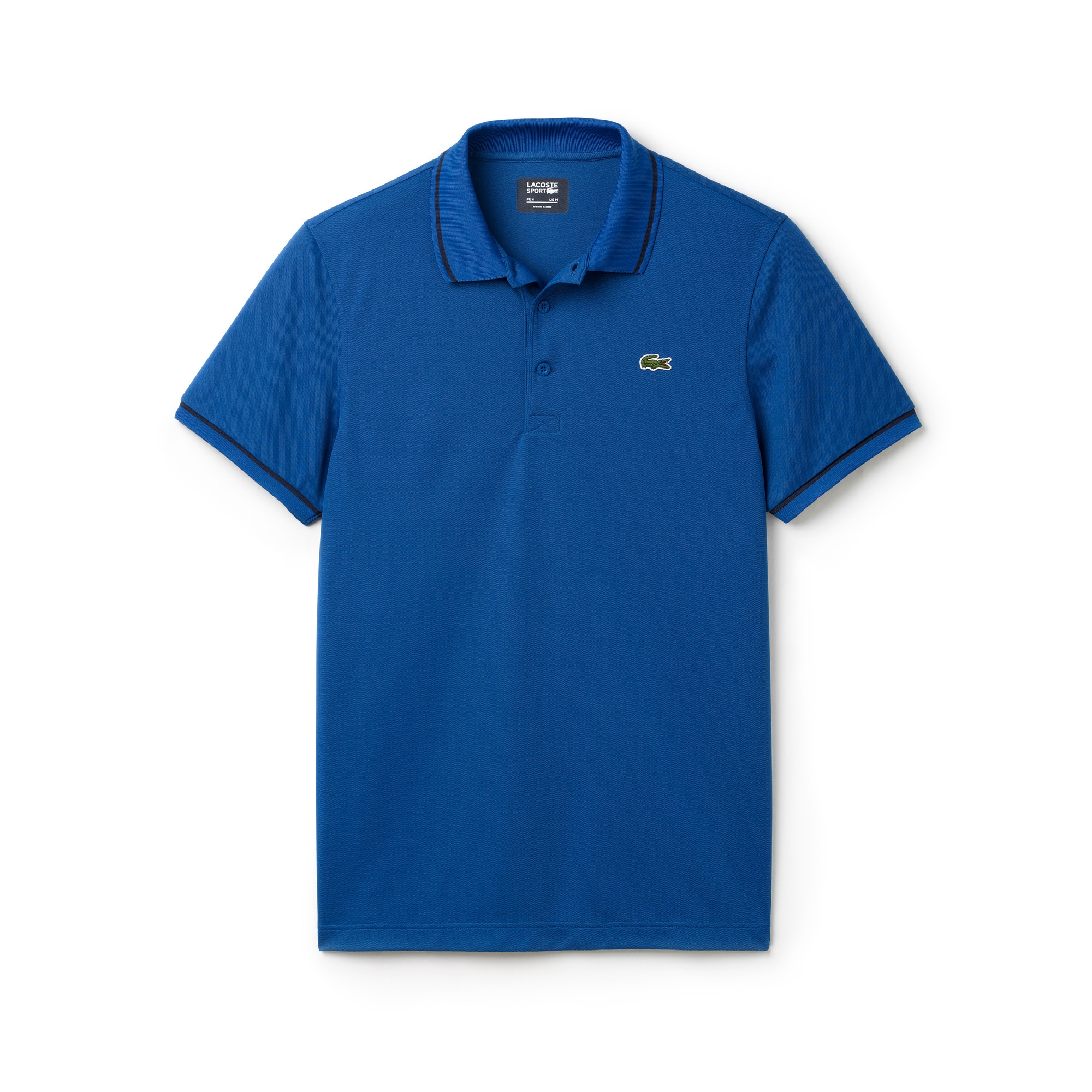 Men's Lacoste SPORT Tennis Piped Technical Piqué Polo