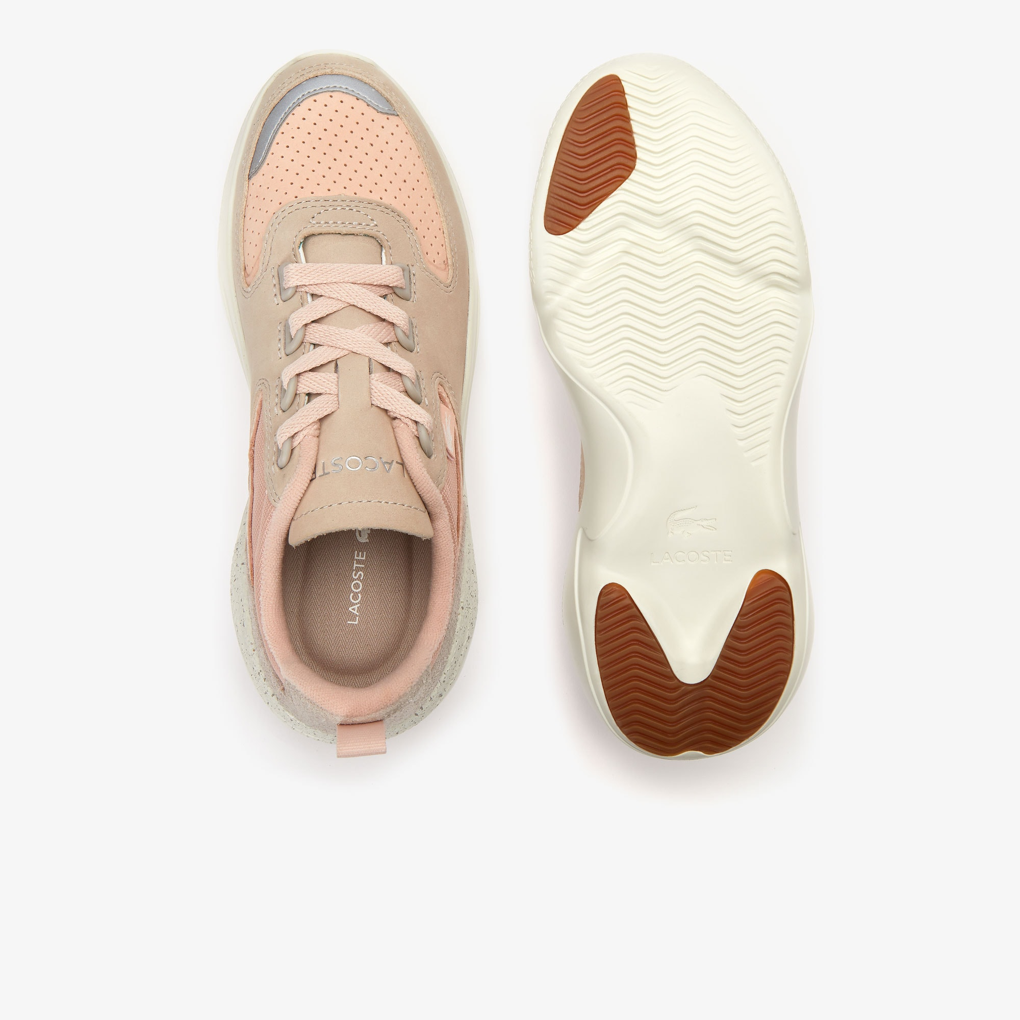 Women's Wildcard Leather and Textile Trainers