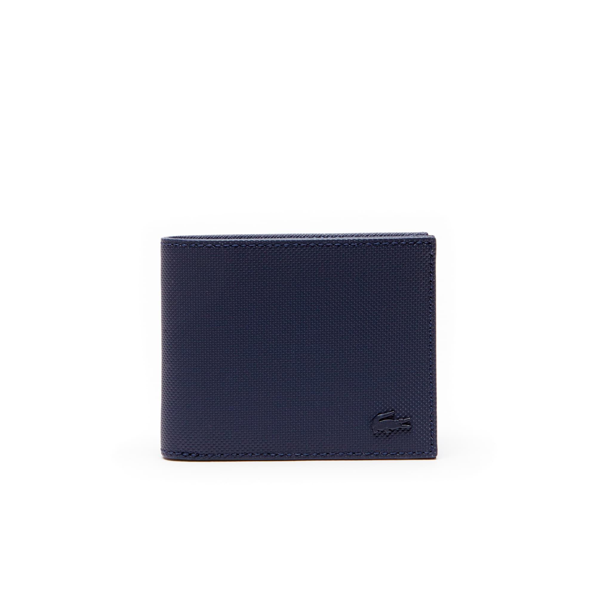 Men's Classic Petit Piqué Flat Wallet