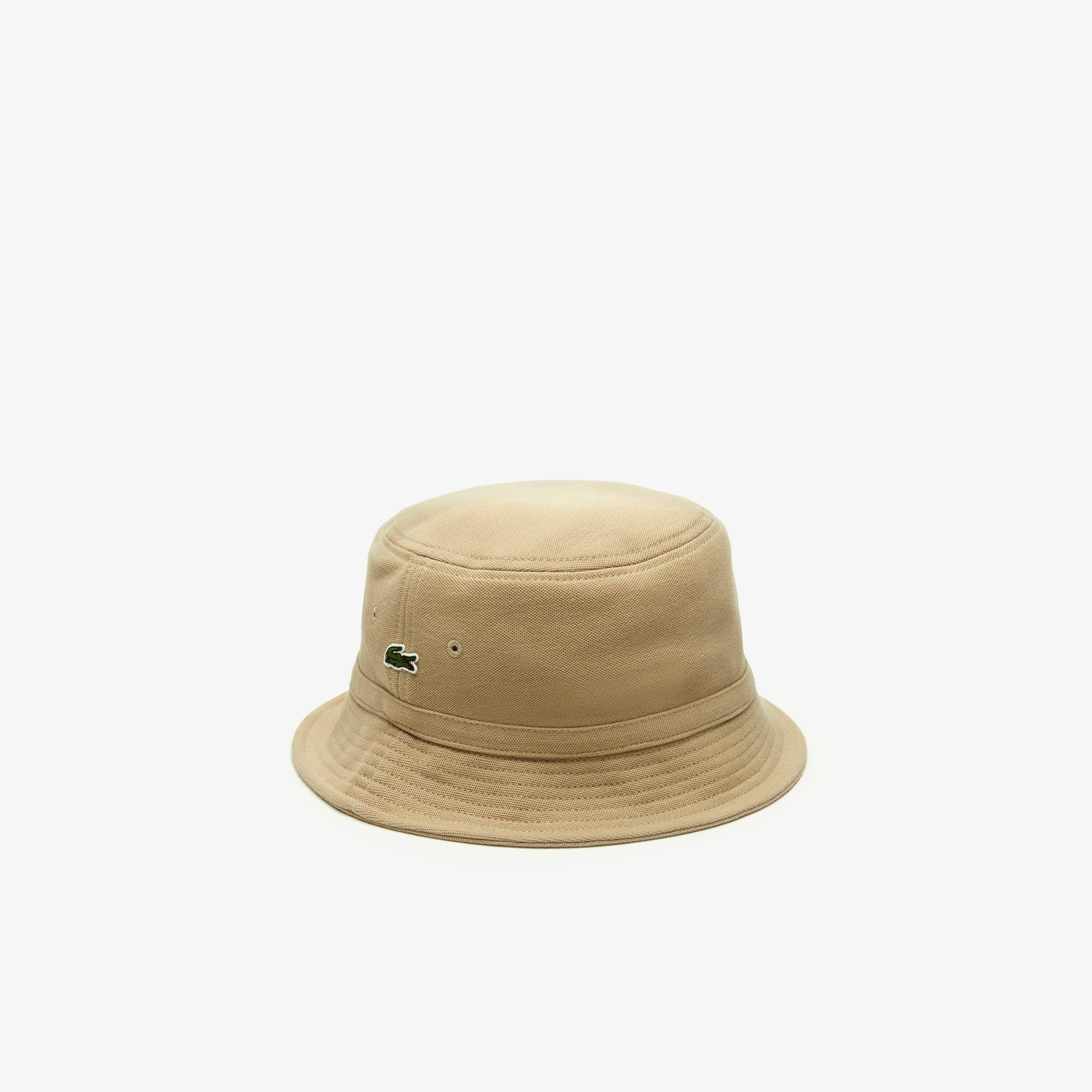 d0a2578a Men's Cotton piqué bucket hat | LACOSTE