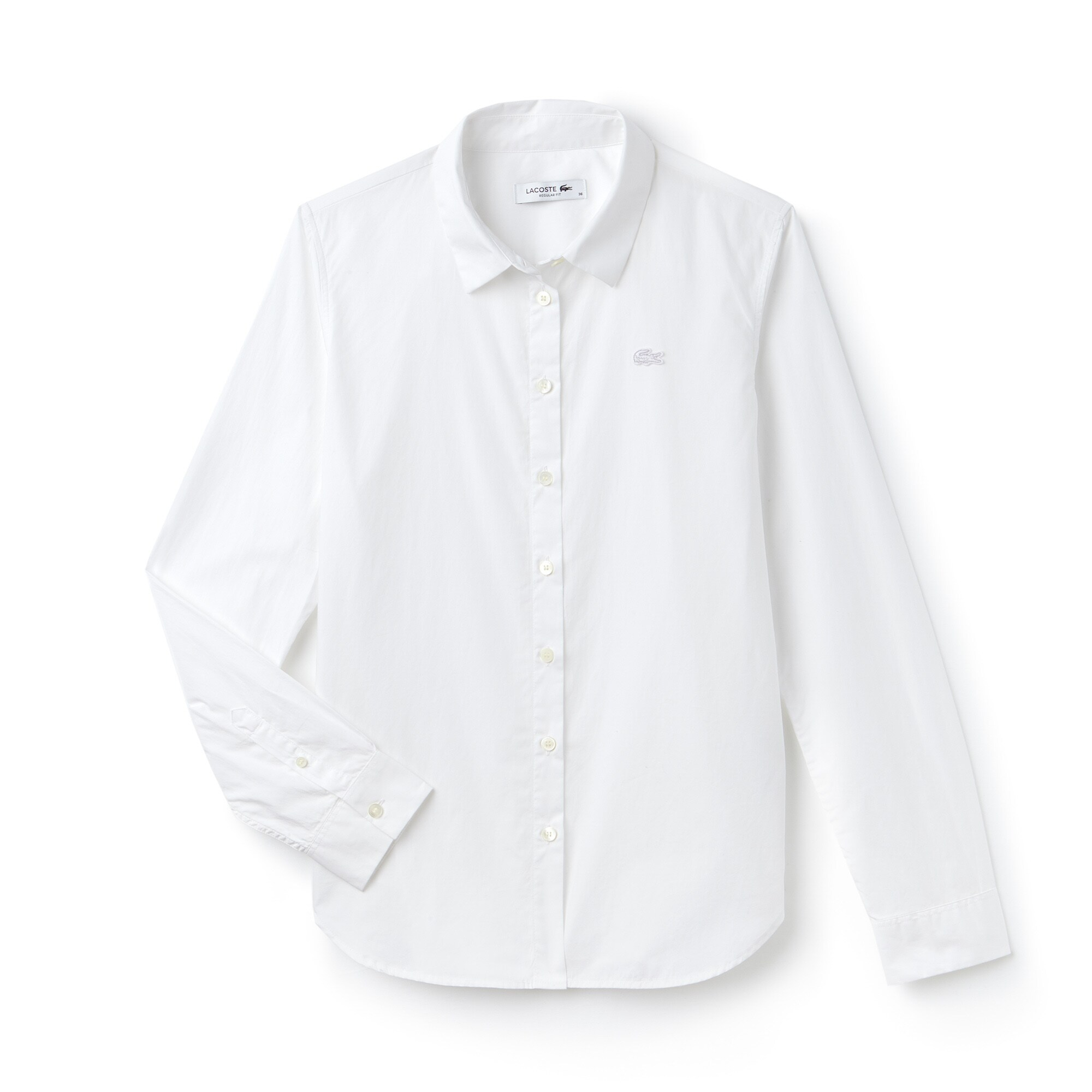 Women's Regular Fit Cotton Poplin Shirt