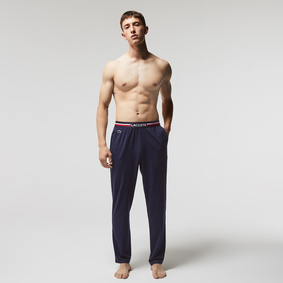 Jersey Pyjama Lounge Pant With Three-Tone Waistband