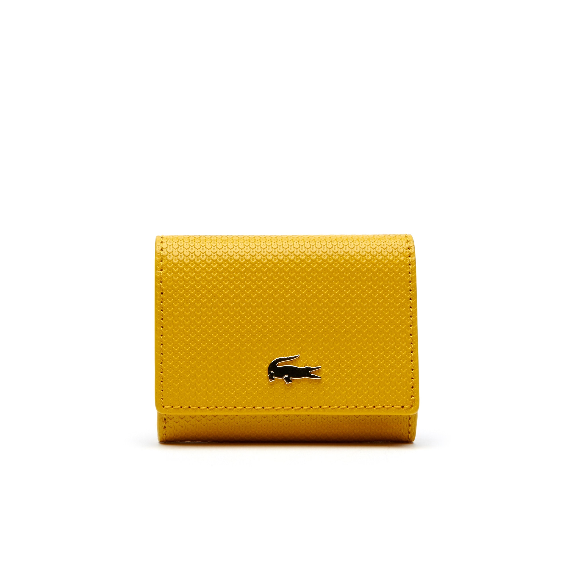 Women's Chantaco Bicolor Piqué Leather 3 Card Wallet