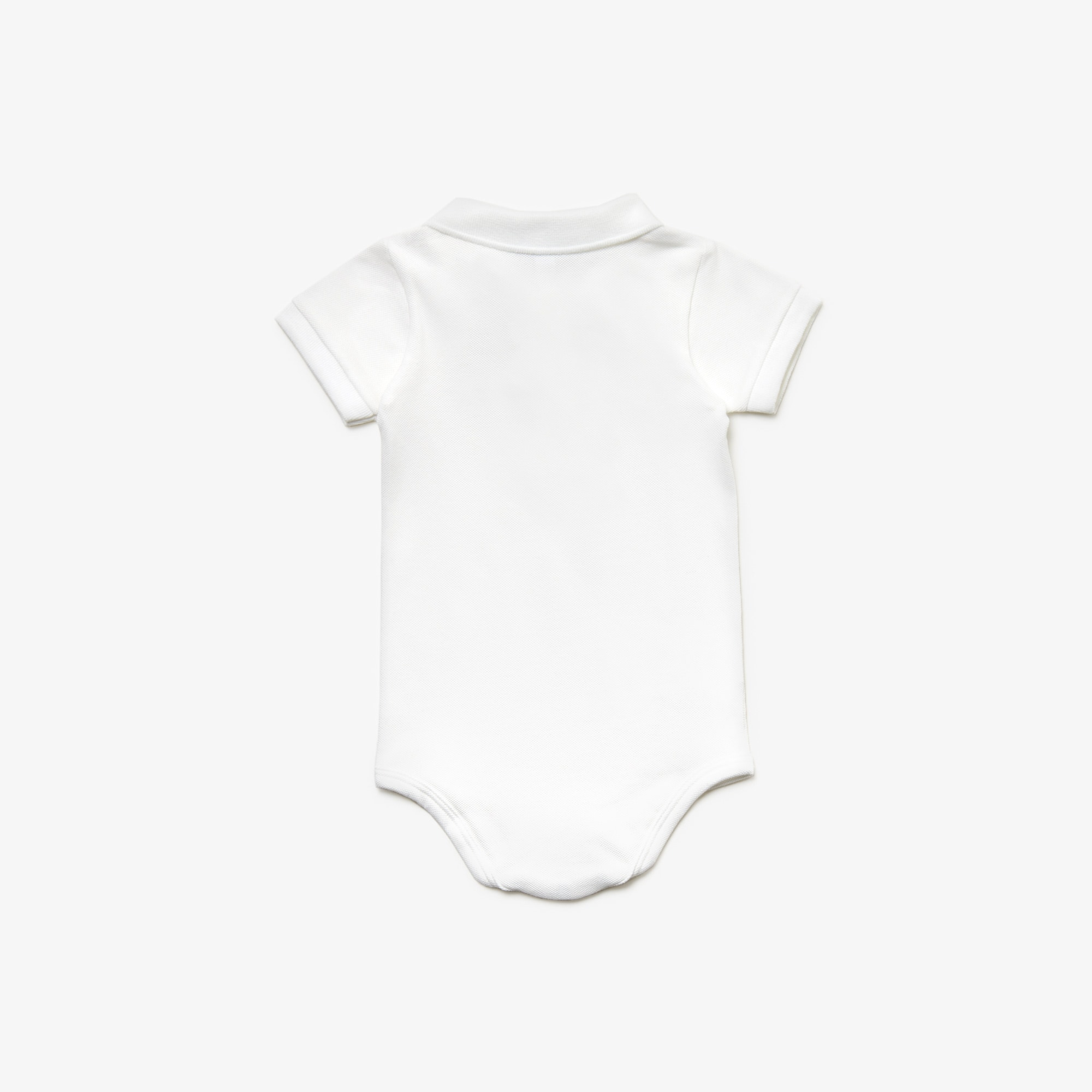 Stretch Cotton Piqué Bodysuit Set