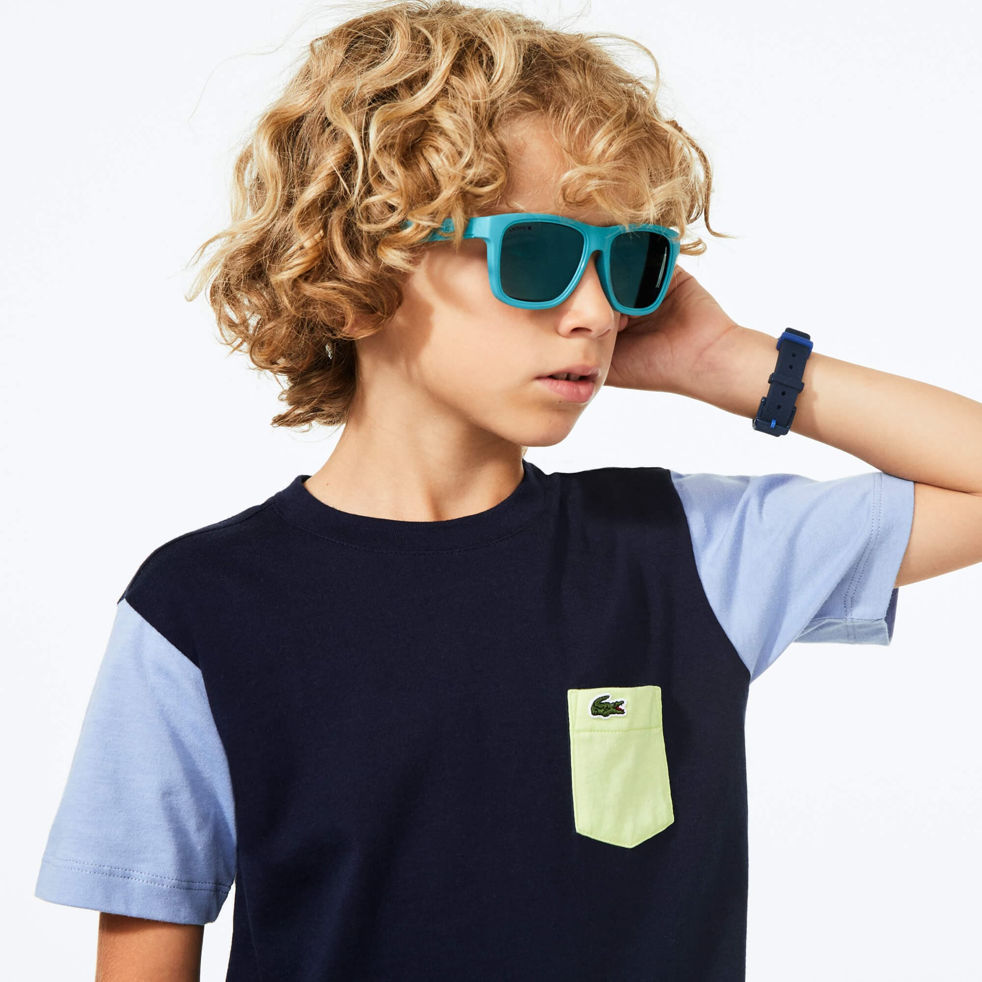 Kids' Rectangle Plastic Floatable Sunglasses