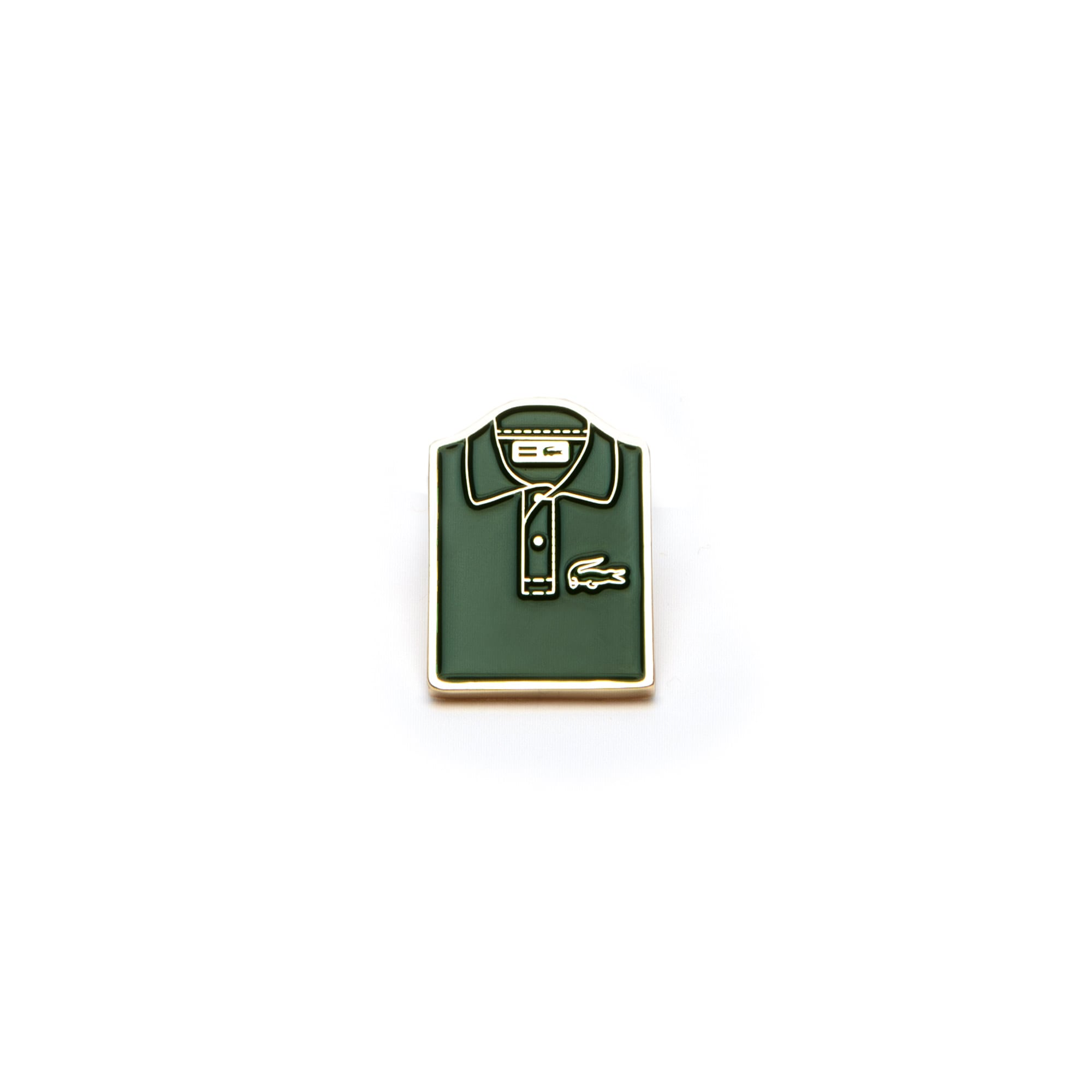 Lacoste Polo Fashion Show Pin Badge