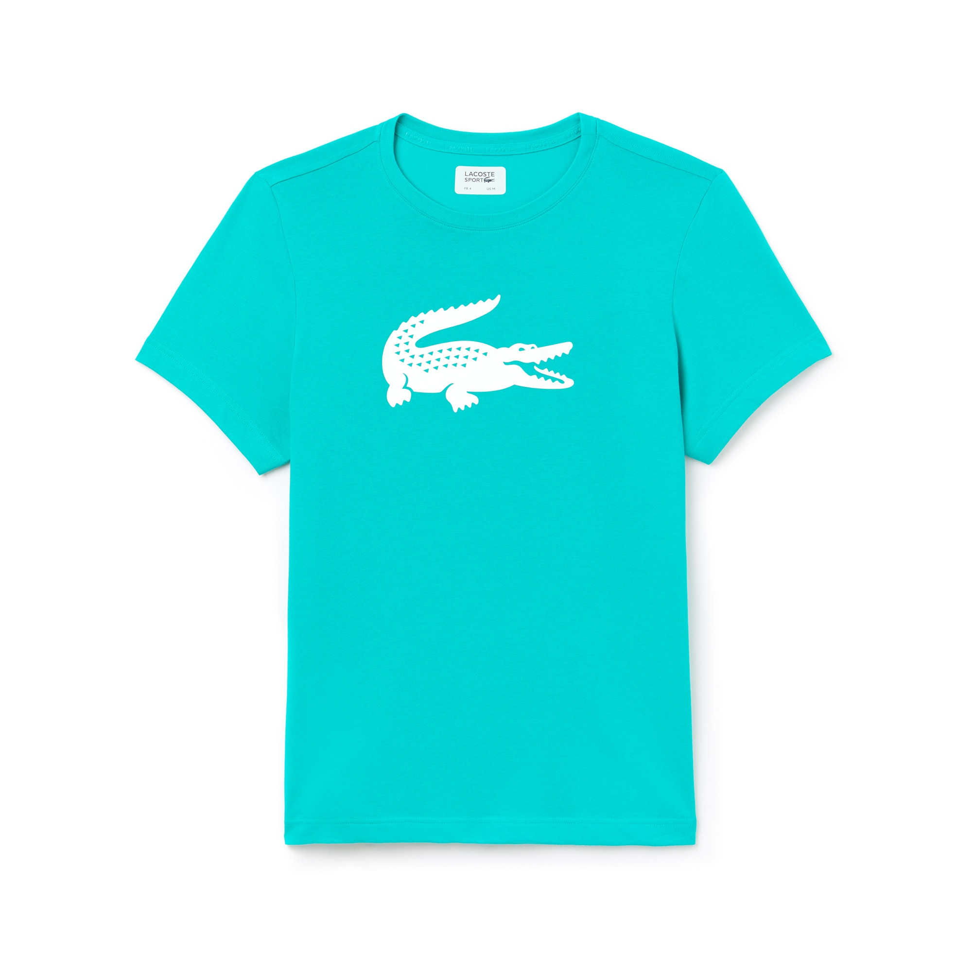 Men's Lacoste SPORT Oversized Crocodile Technical Jersey Tennis T-Shirt