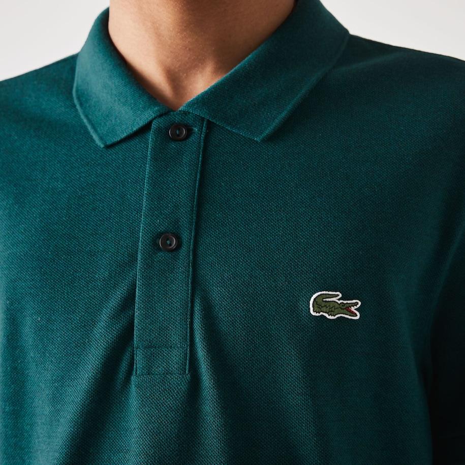 Men's Slim fit Lacoste Polo Shirt in petit piqué   LACOSTE