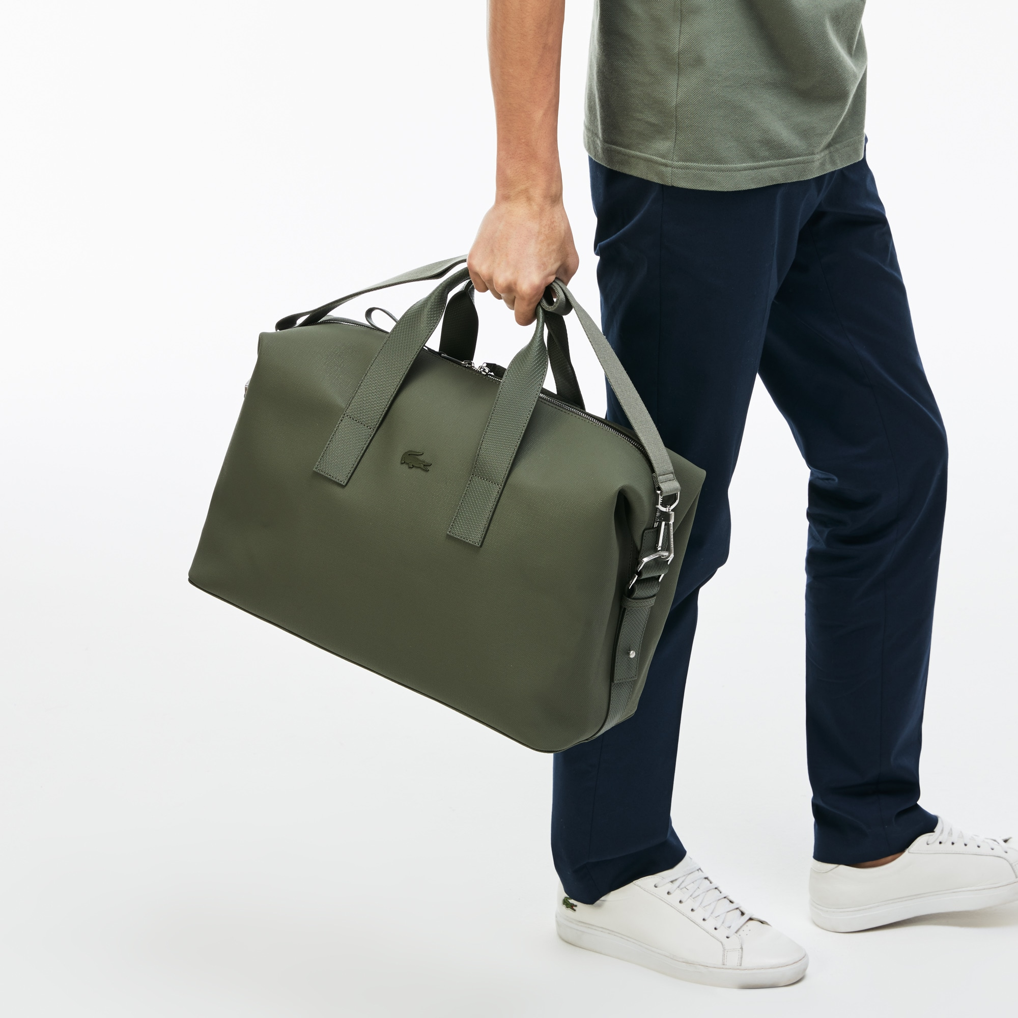 Men's Chantaco Coated Cotton Canvas Weekend Bag