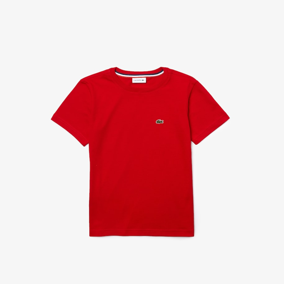 Boys' Crew Neck Cotton Jersey T-shirt
