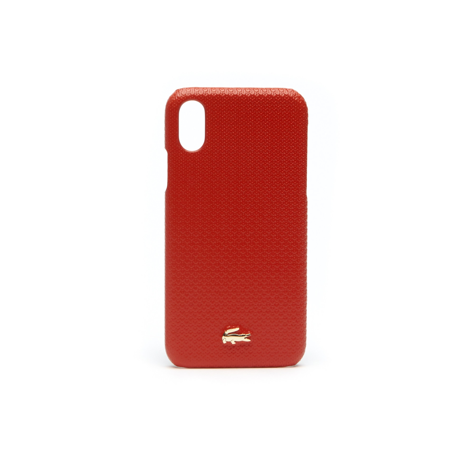 Women's Chantaco Piqué Leather iPhone X Shell