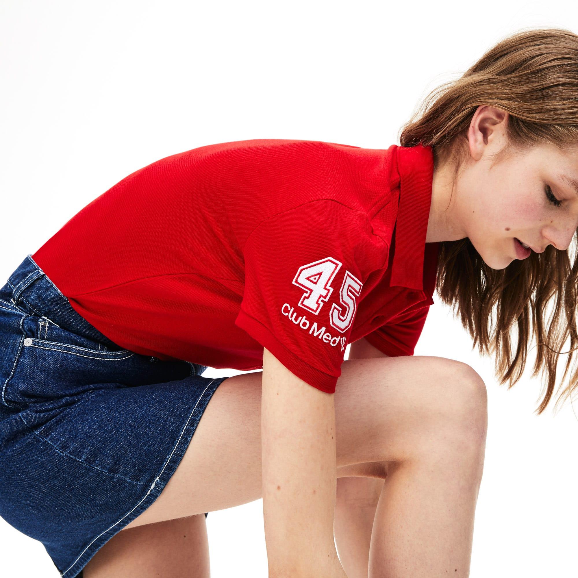 The Feminine Lacoste - Club Med Polo Shirt