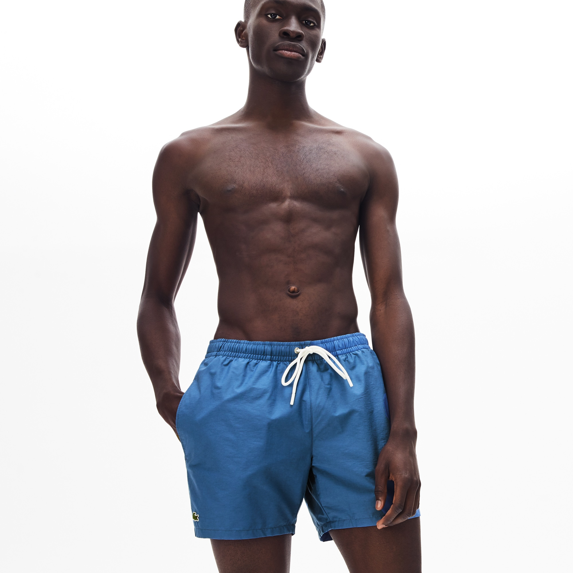 f91711bbd9 Men's Swimming trunks in taffeta | LACOSTE