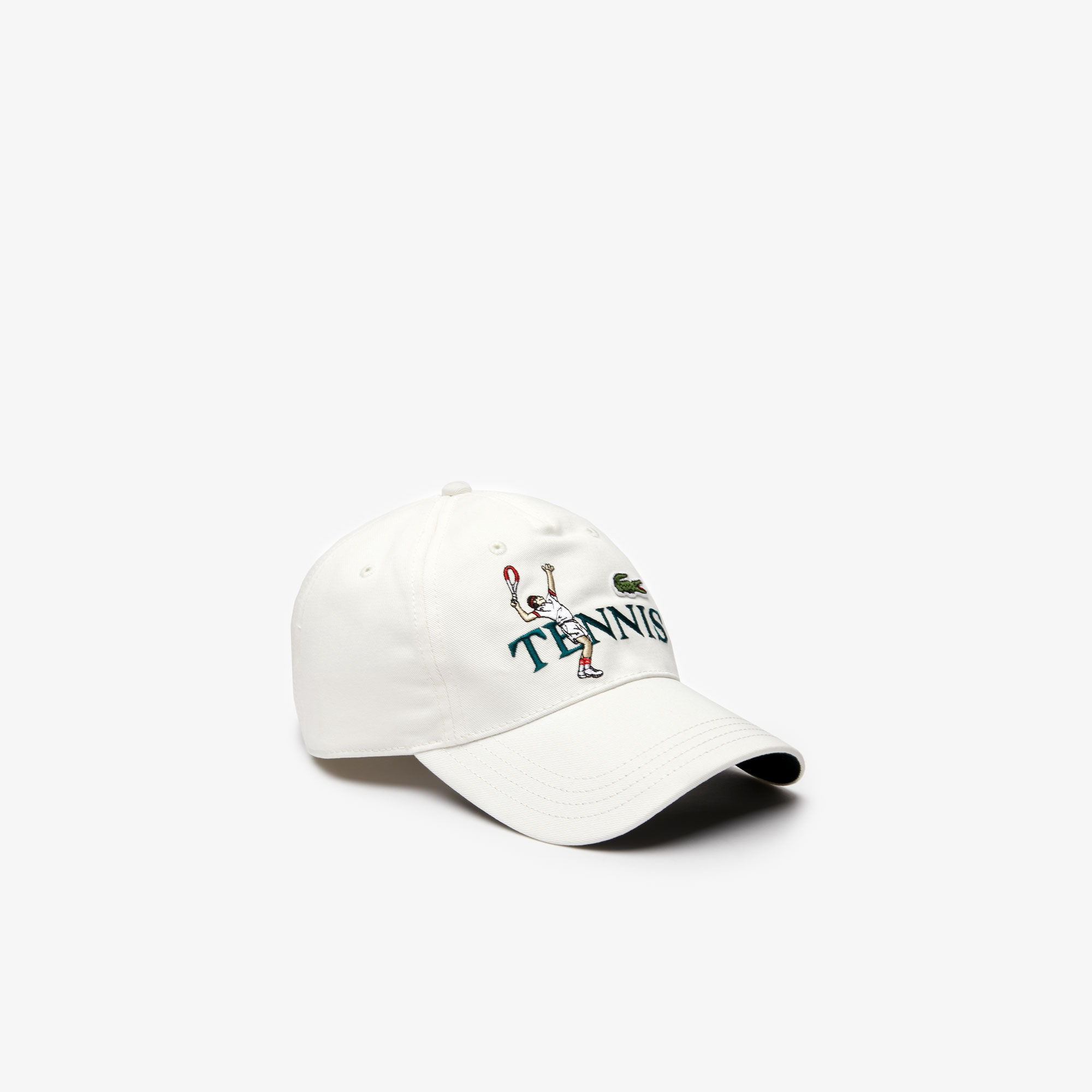 Unisex Lacoste LIVE Embroidered Cotton Cap