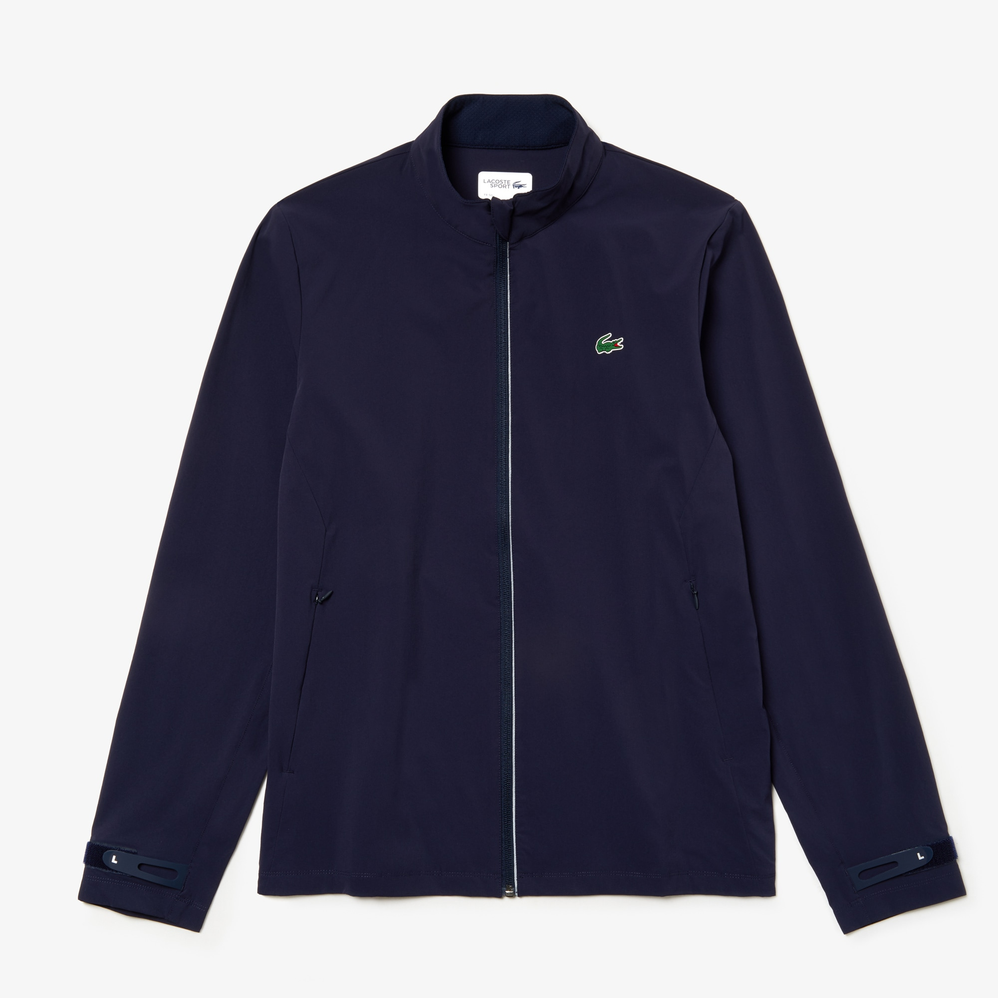 Men's Lacoste SPORT Water-Resistant Printed Zip Golf Jacket