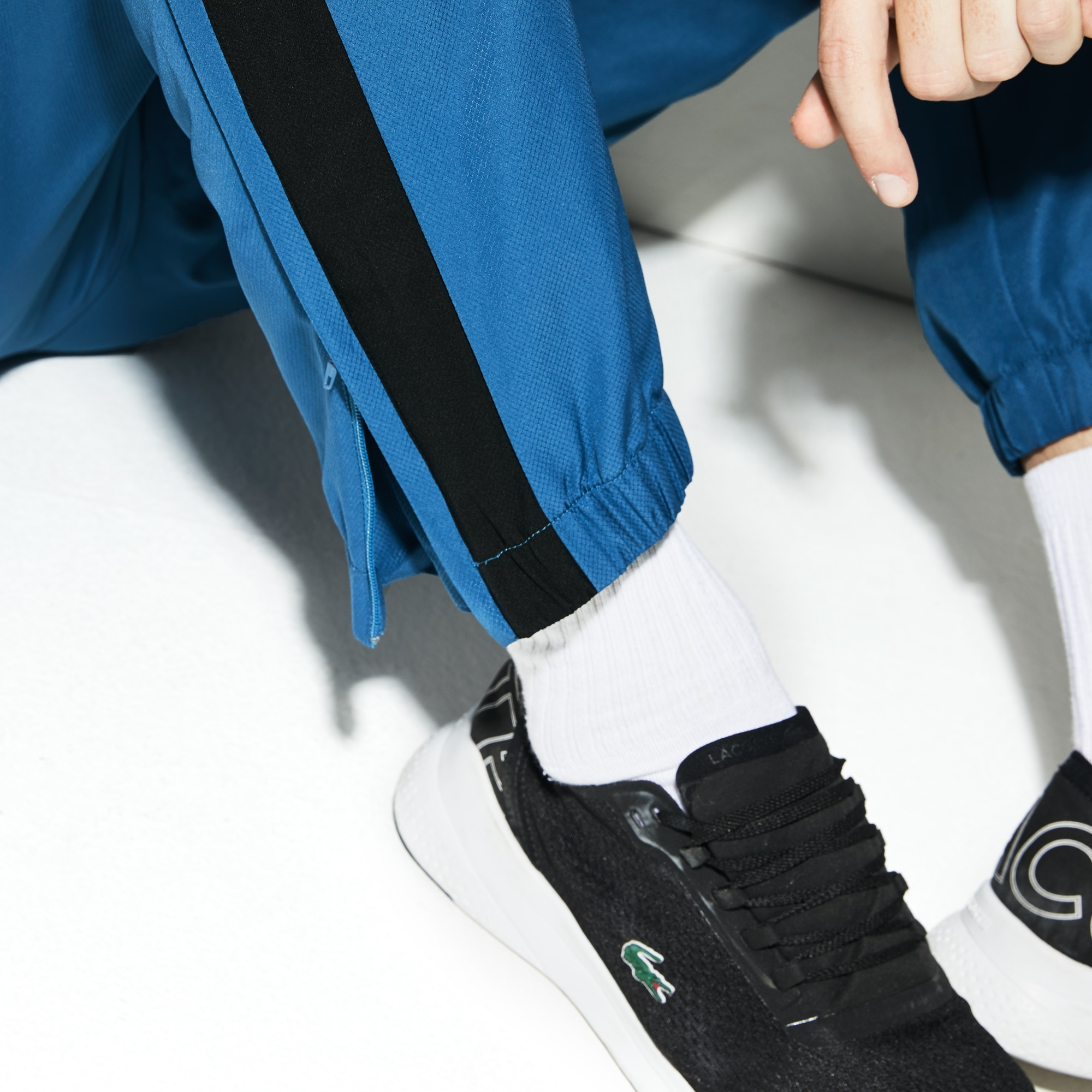 Men's Lacoste SPORT Colourblock Band Tennis Sweatpants