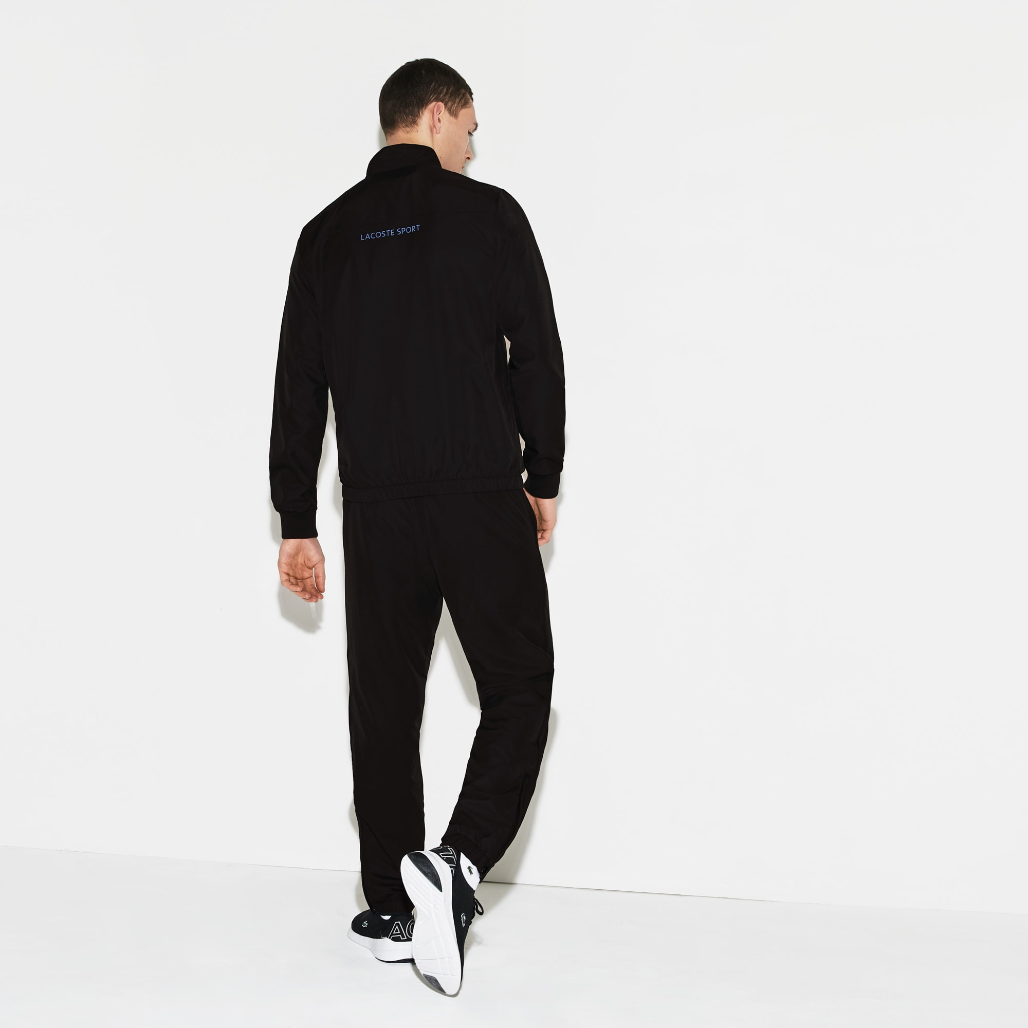 Men's Lacoste SPORT Lettered Colourblock Tennis Sweatsuit
