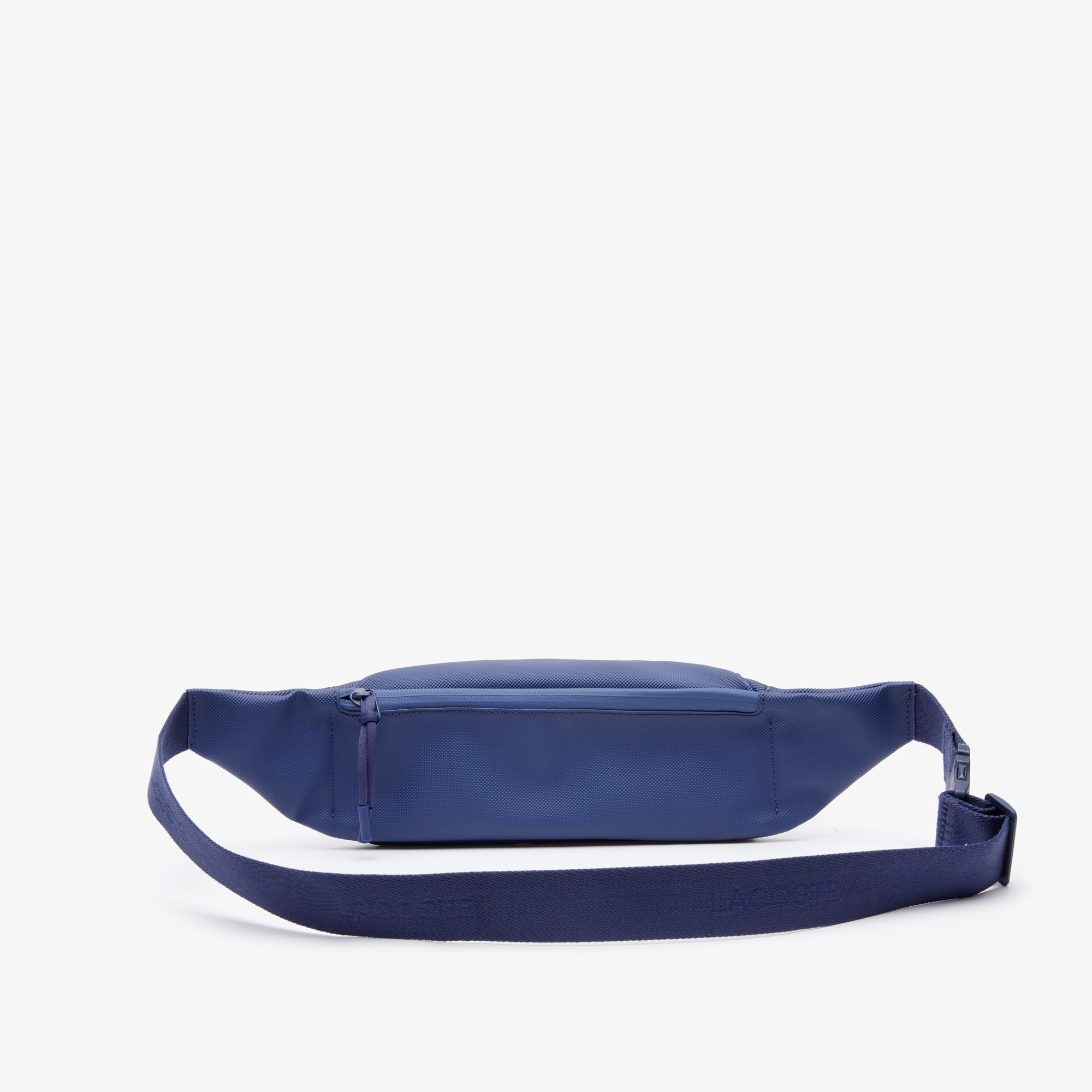 4a6bc9643f Men's L.12.12 Concept Coated Petit Piqué Canvas Belt Bag | LACOSTE