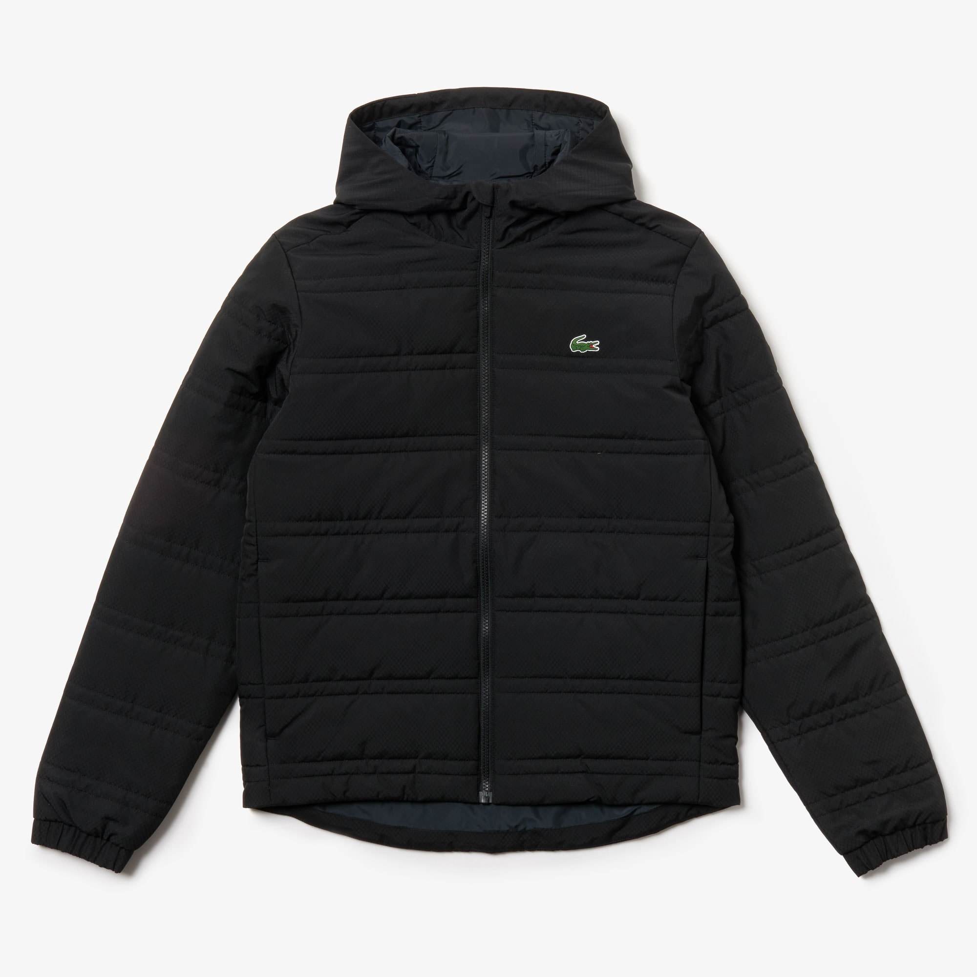 Men's Lacoste SPORT Collapsible Water-Resistant Quilted Zip Jacket
