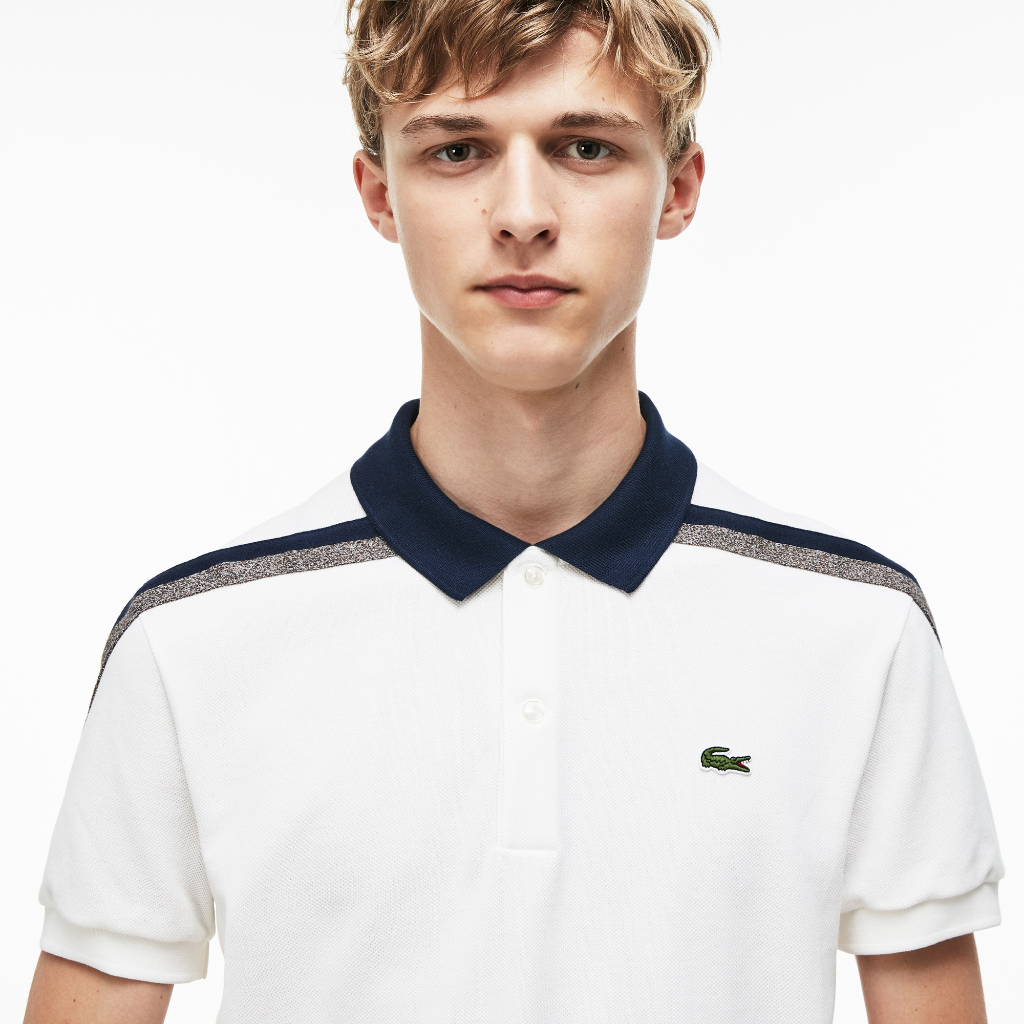8439e8c95df01 Men's Lacoste Made In France Regular Fit Cotton Piqué Polo