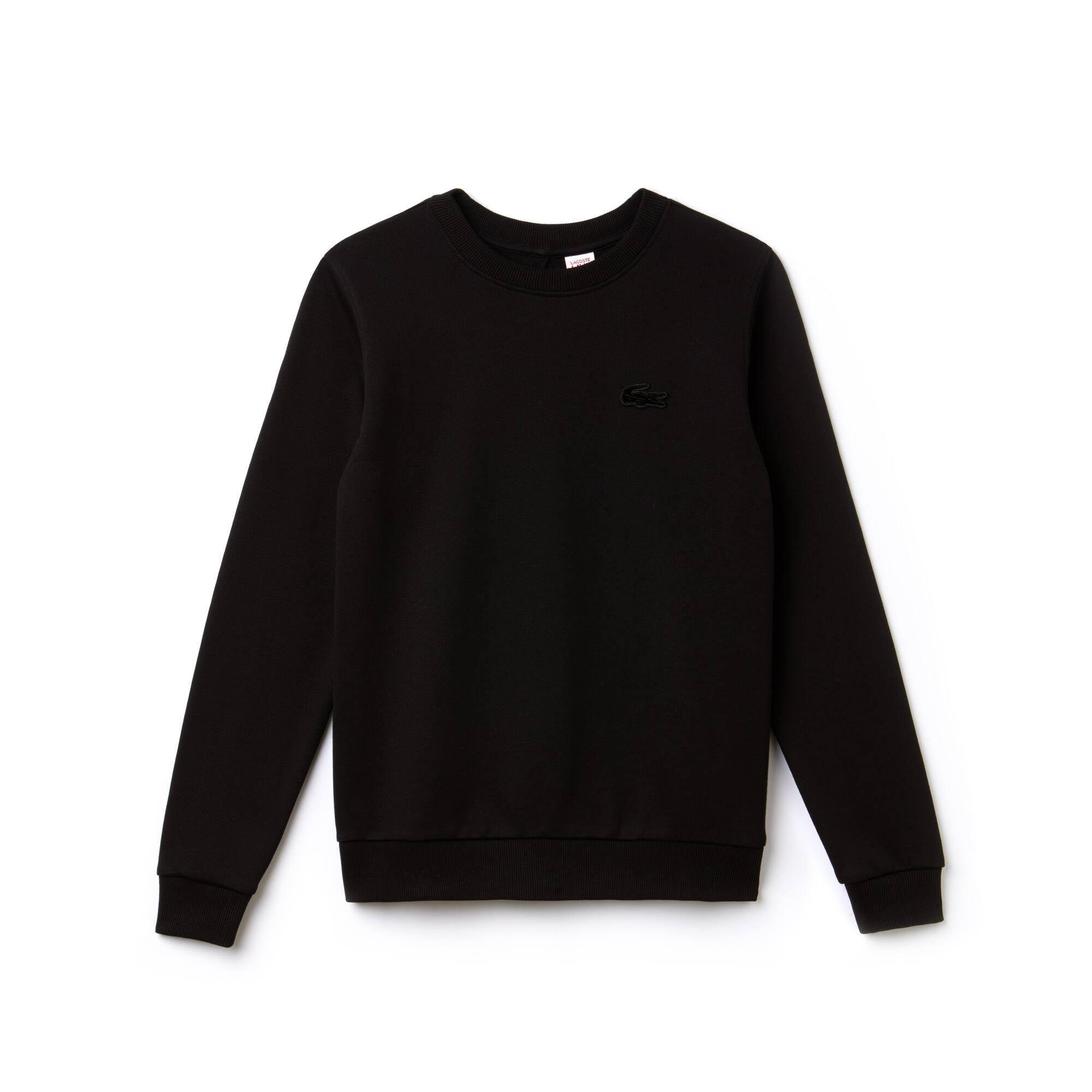 Women's Lacoste LIVE Teardrop Opening Fleece Sweatshirt