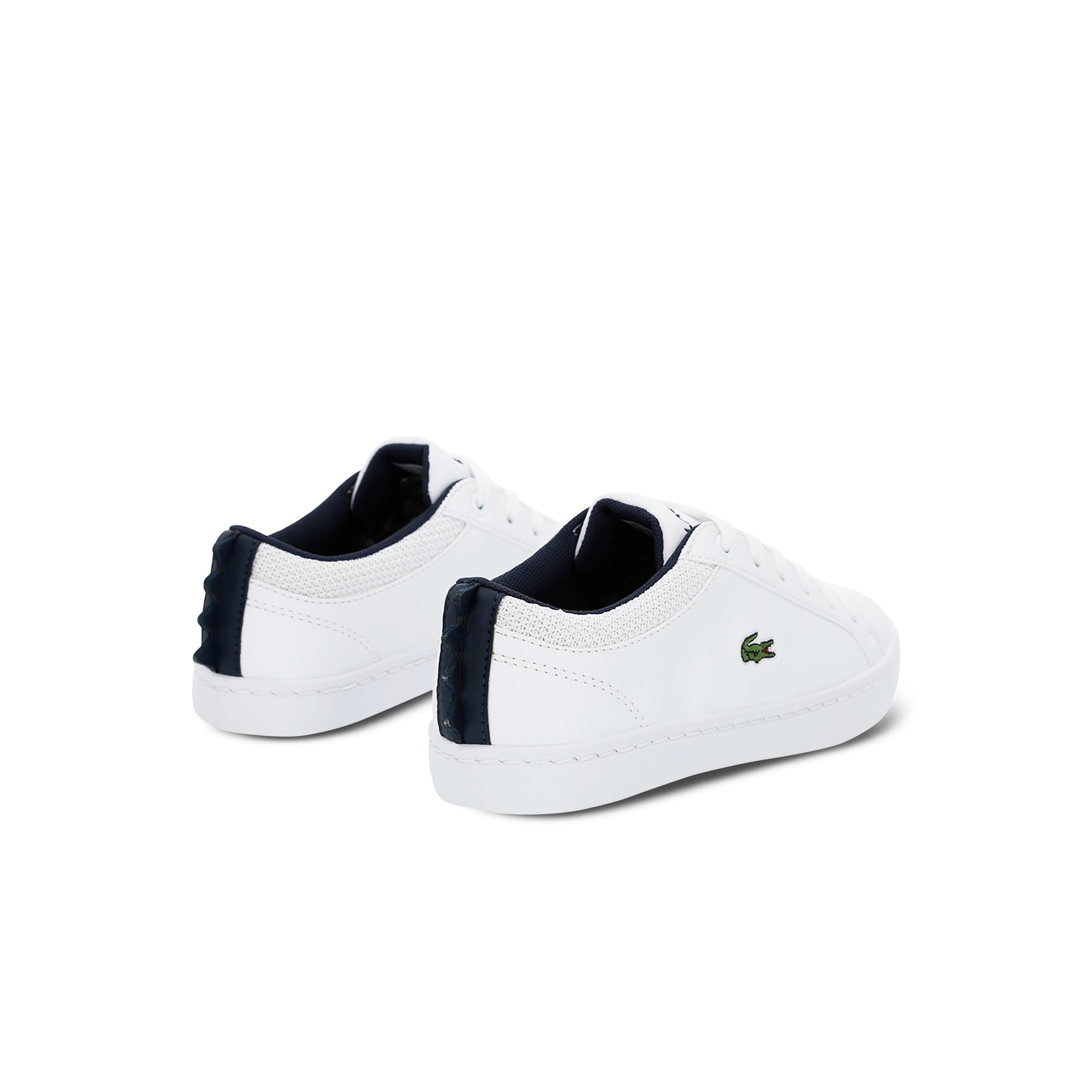 Children's Straighset Sneakers with Crocodile Spine