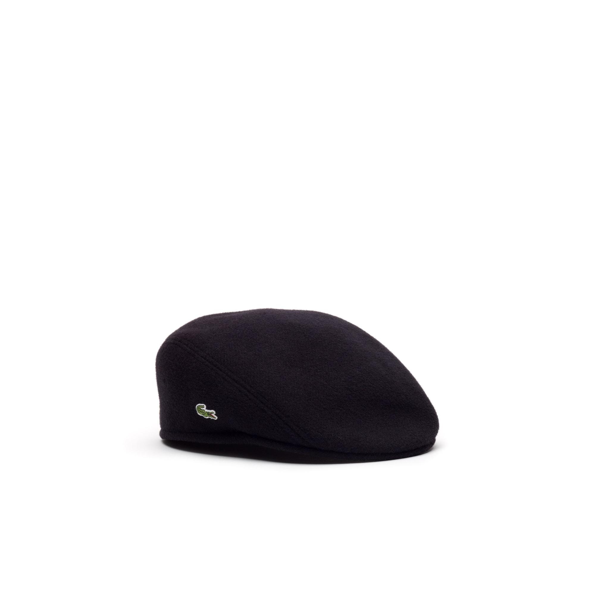 Men's Wool Broadcloth Flat Cap