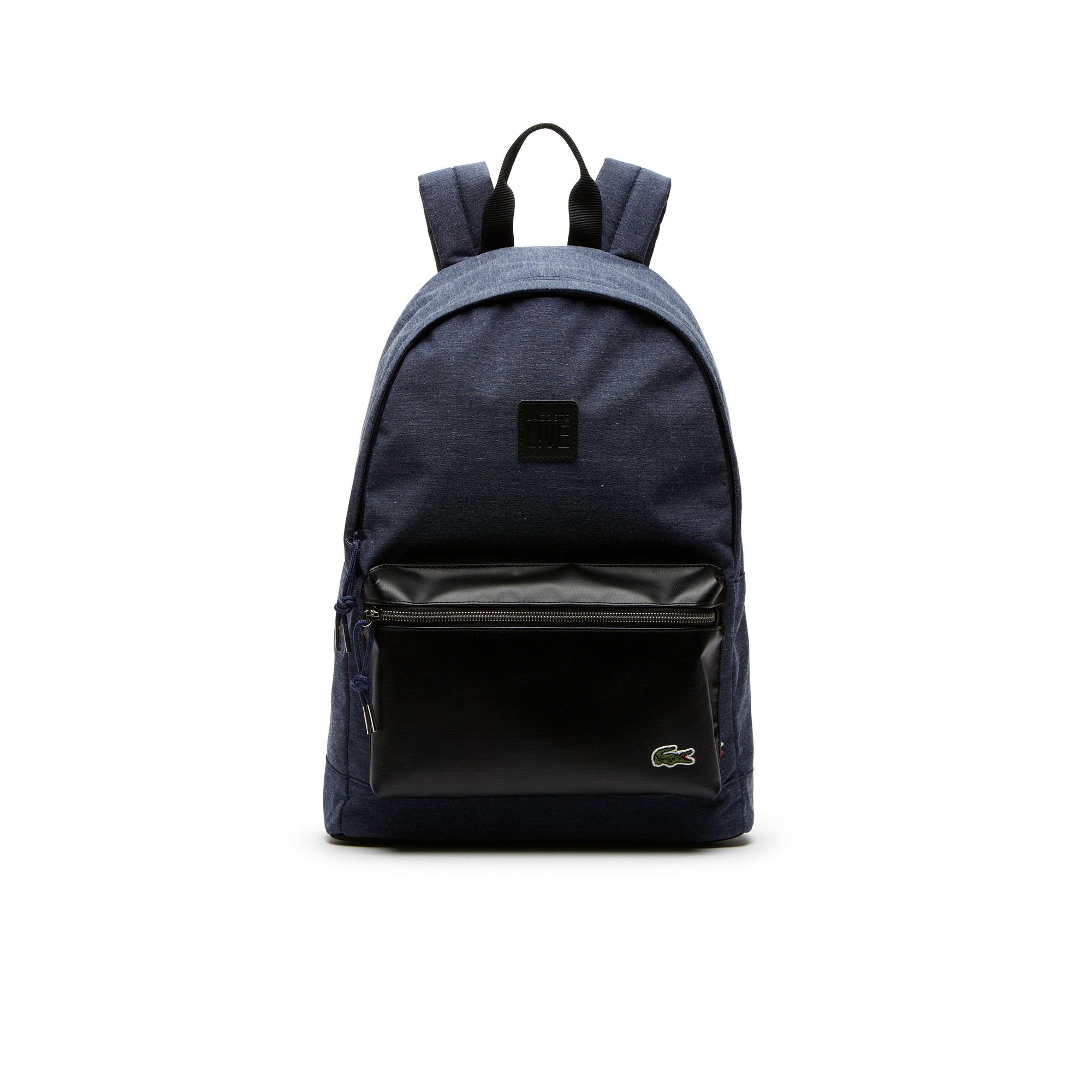 BackLive color block backpack