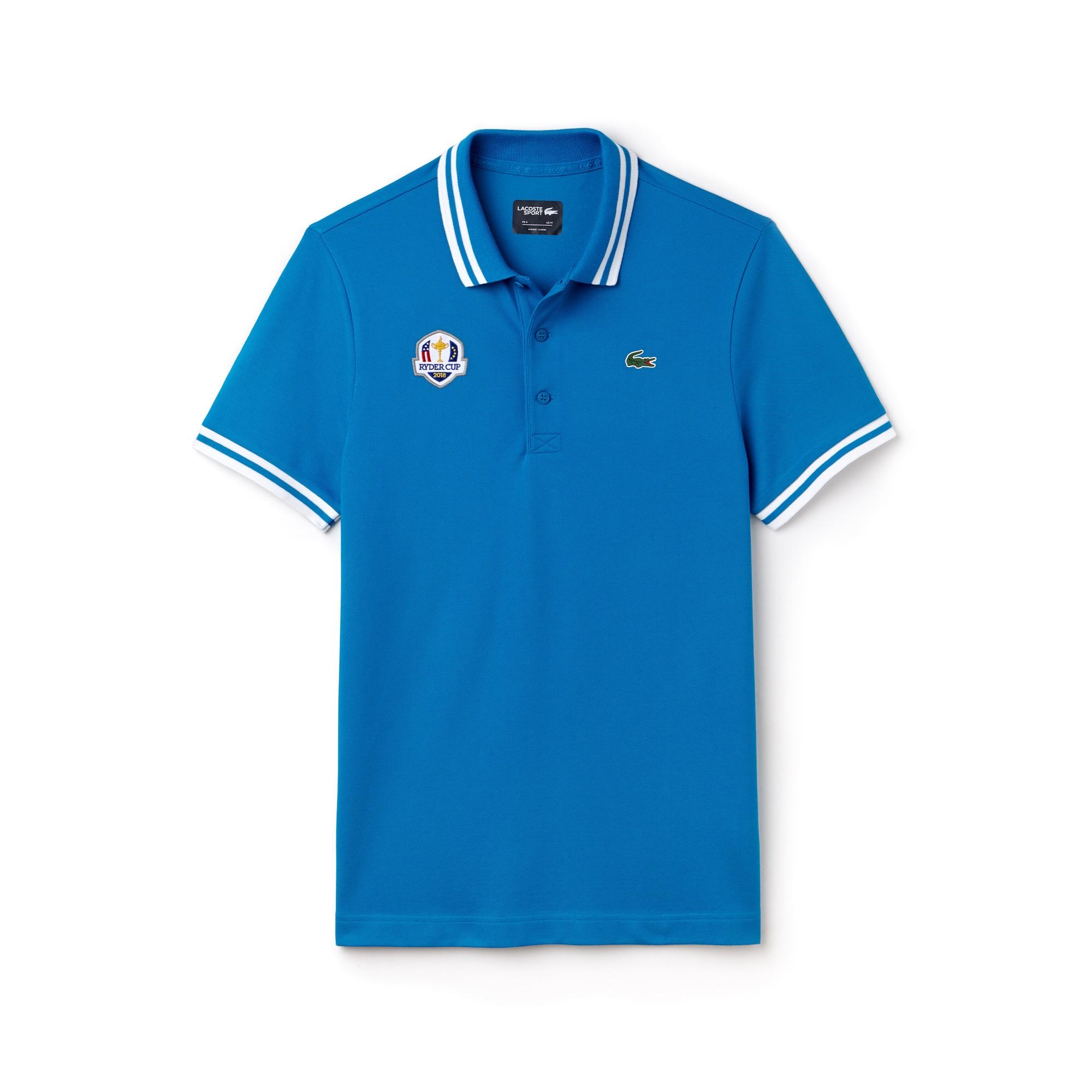 Men's Lacoste SPORT Ryder Cup Edition Tech Petit Piqué Golf Polo