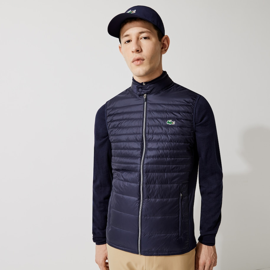 Men's Lacoste SPORT Lightweight Water-Resistant Quilted Golf Vest