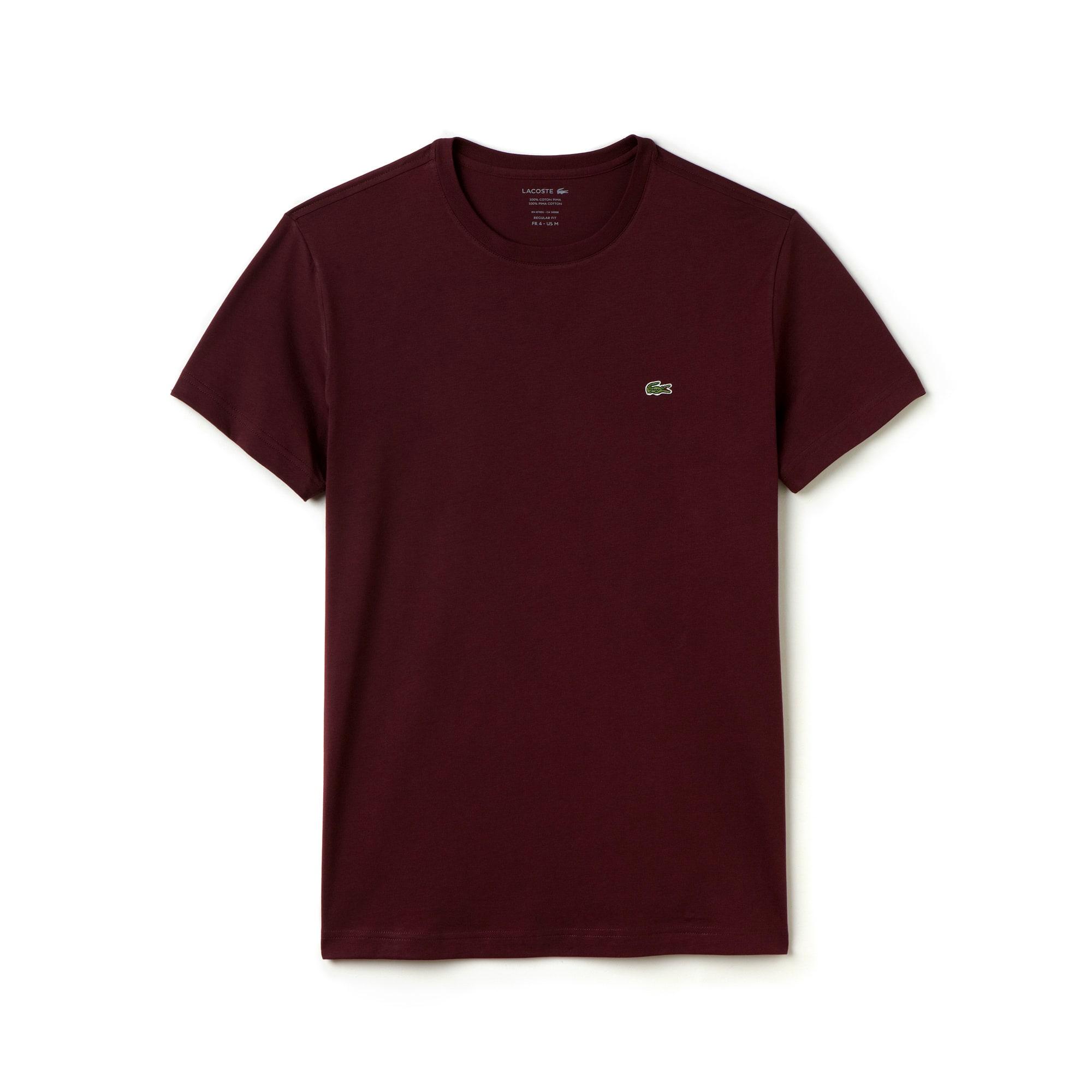 Men's Regular fit crew neck T-shirt in cotton