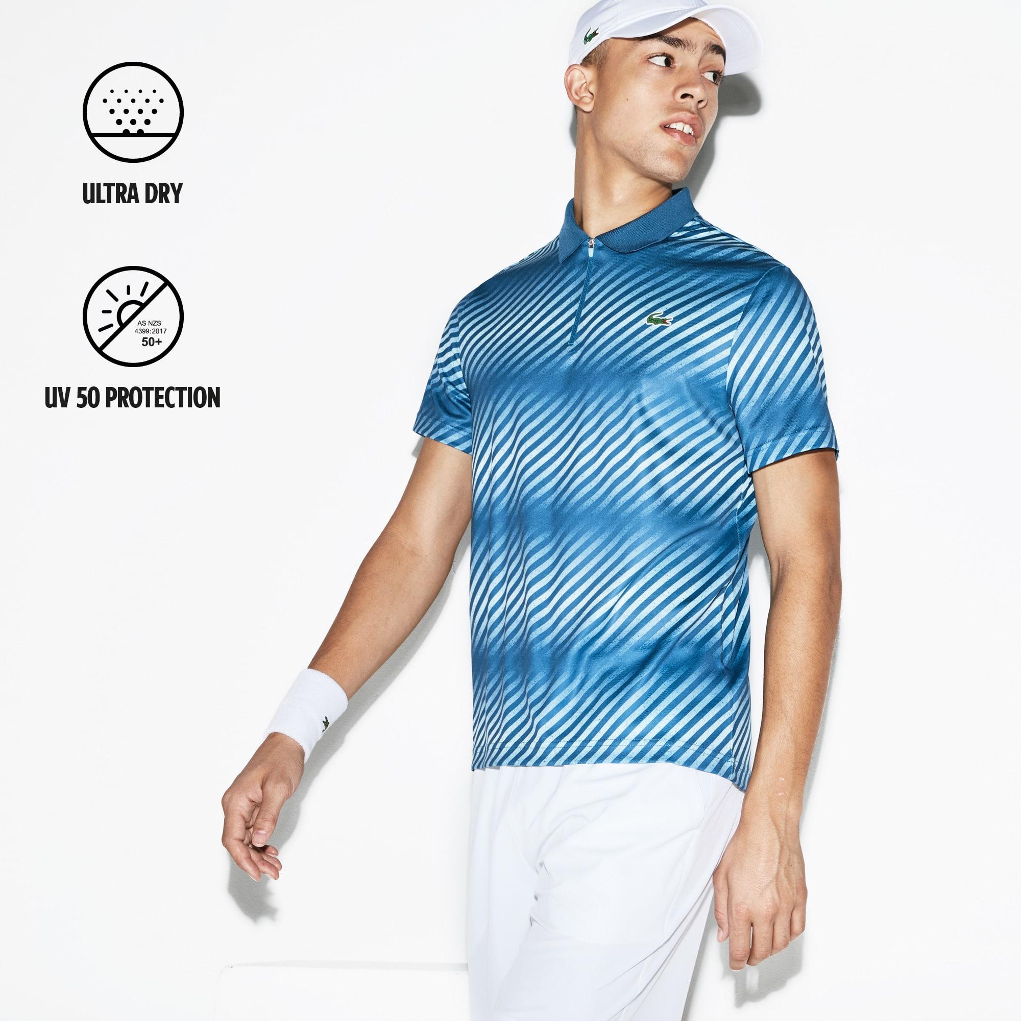 0752b1c9 Mens Sport Ultra Dry Zip Tennis Polo Shirt - Nils Stucki Kieferorthopäde