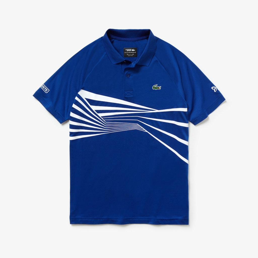 Mens Lacoste Sport Novak Djokovic Collection Graphic Print Tech