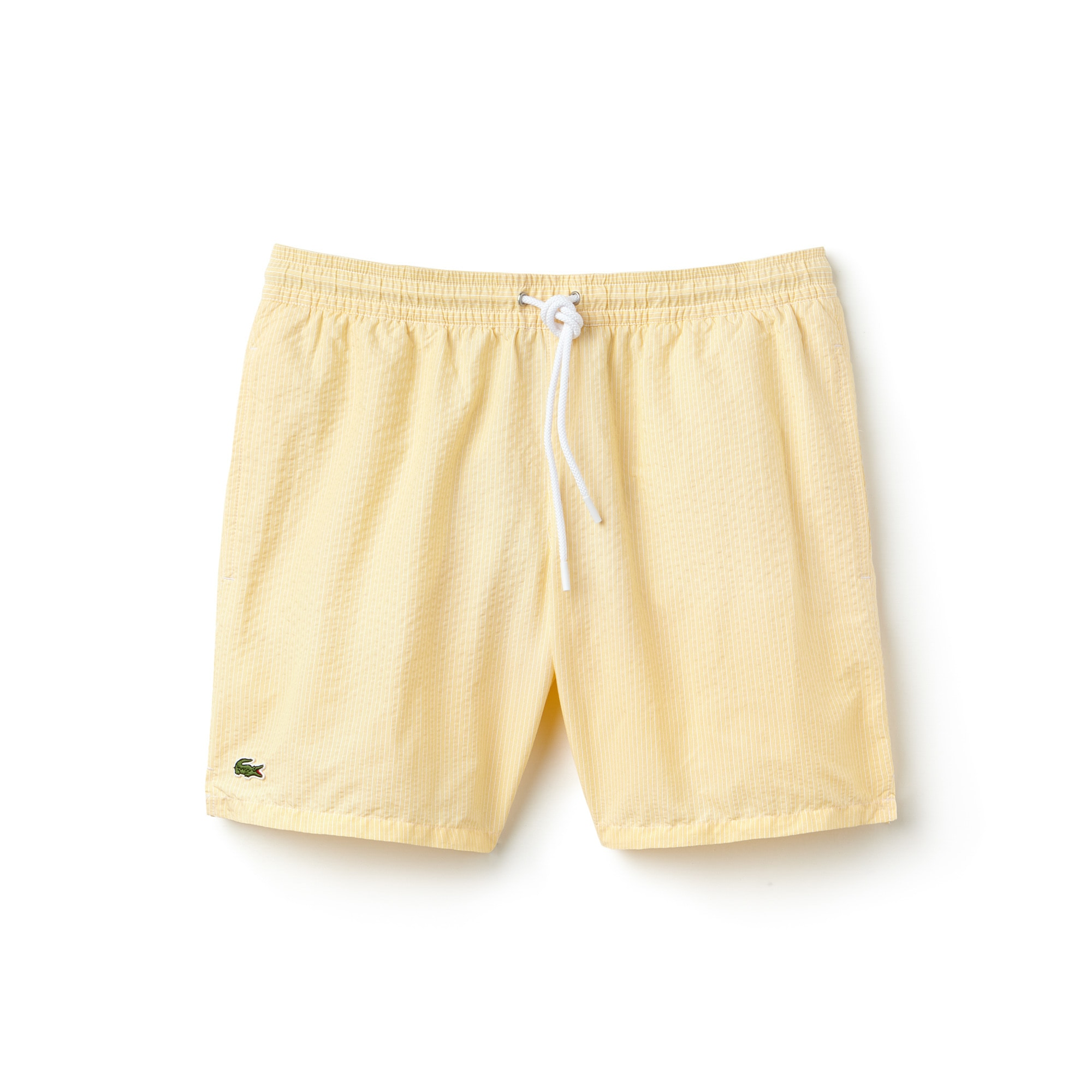 Men's Striped Seersucker Swimming Trunks