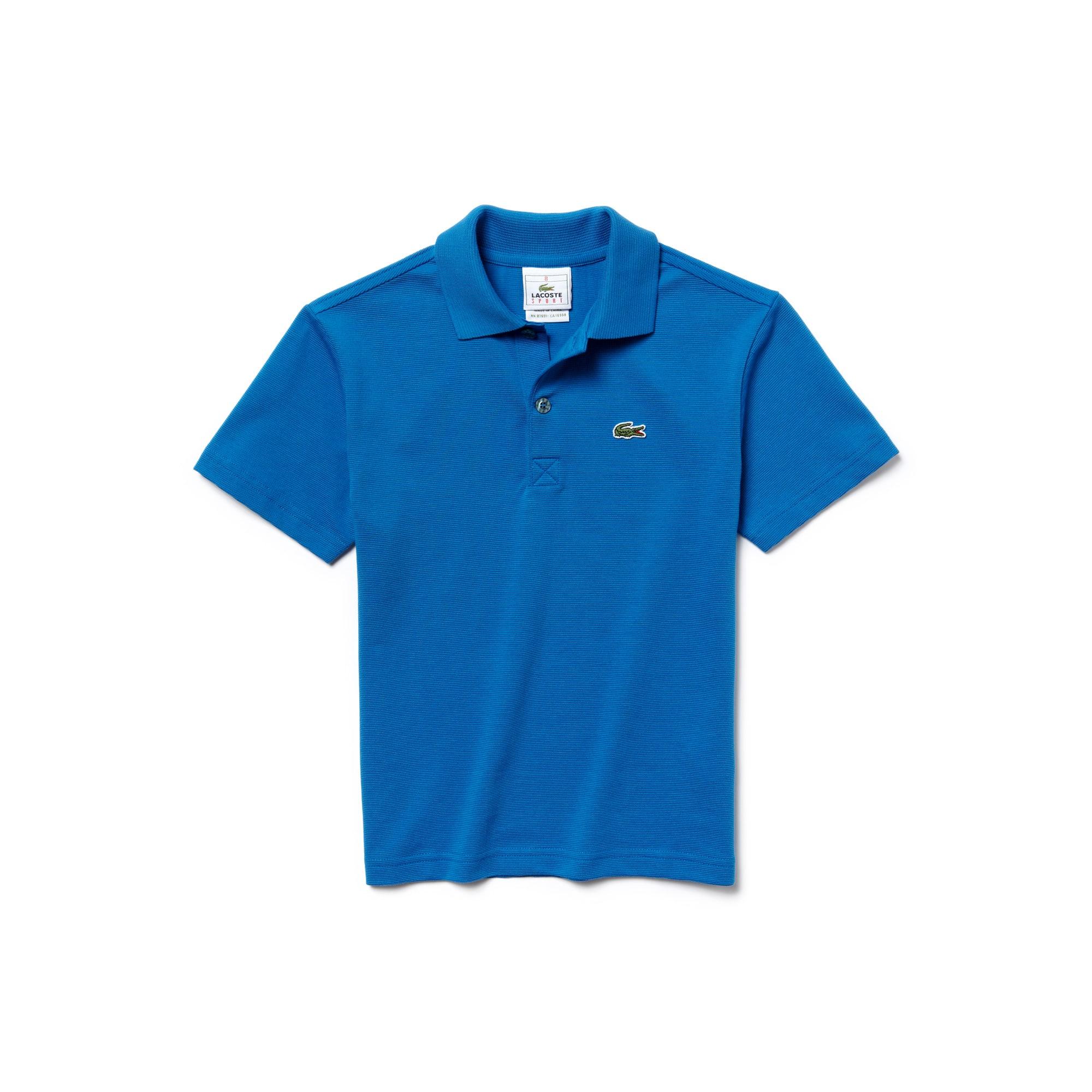 Boys' Lacoste SPORT Colorblock Ultra-Light Cotton Tennis Polo Shirt