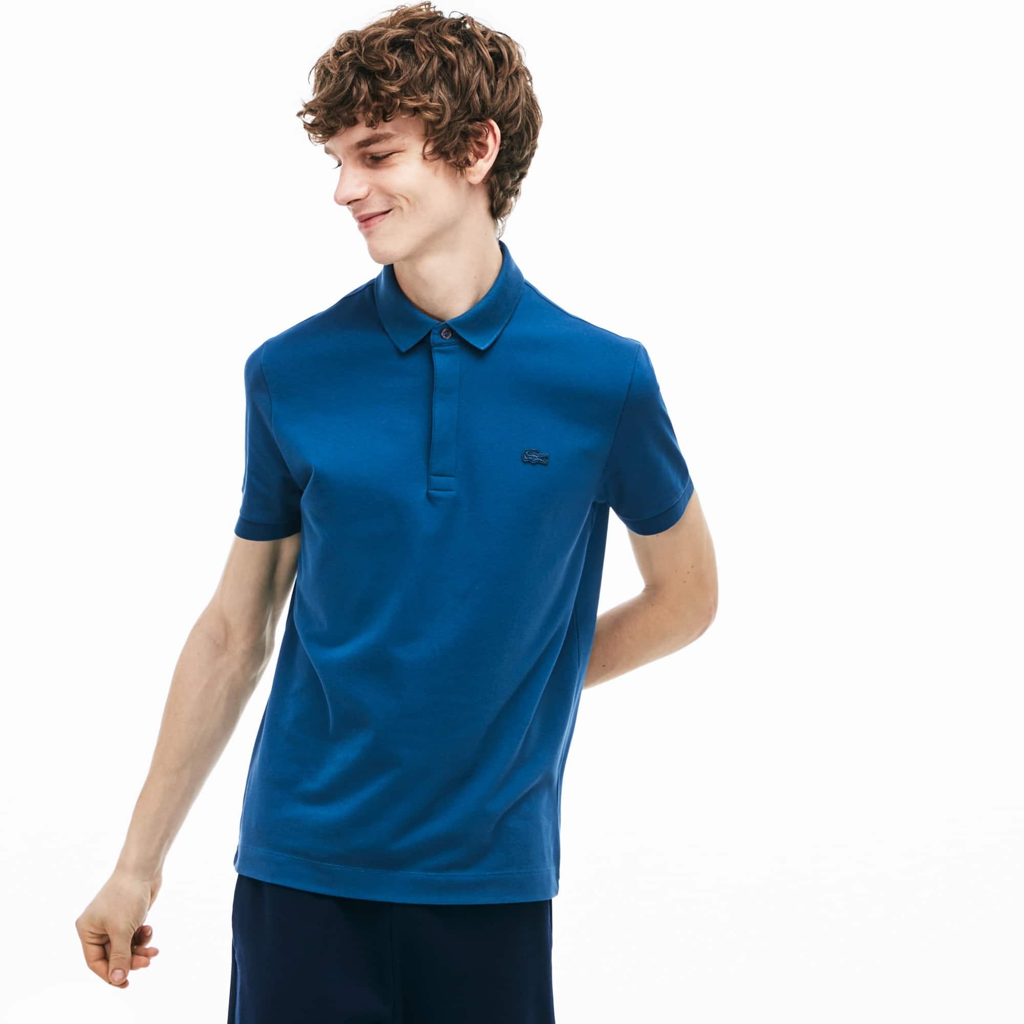 d6eeb73132 Men's Lacoste Paris Polo Shirt Regular Fit Stretch Cotton Piqué ...