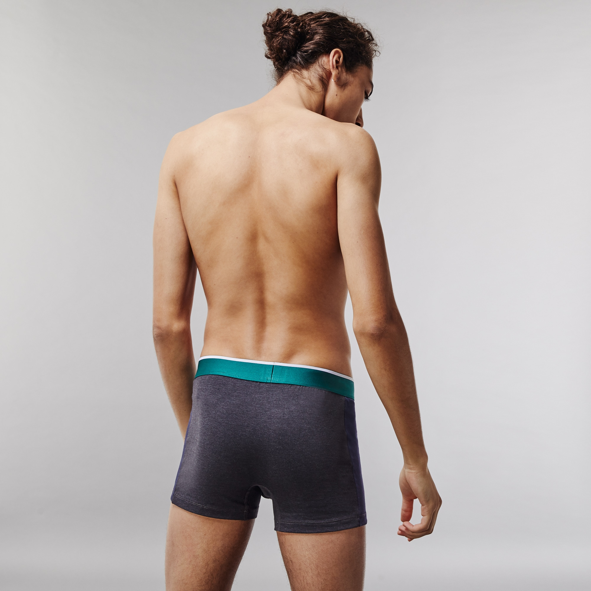 Pack of 2 Colours sport-inspired boxer briefs