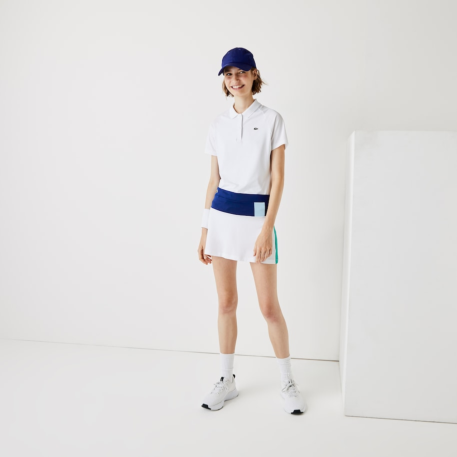 Women's Lacoste SPORT Breathable Stretch Tennis Skirt