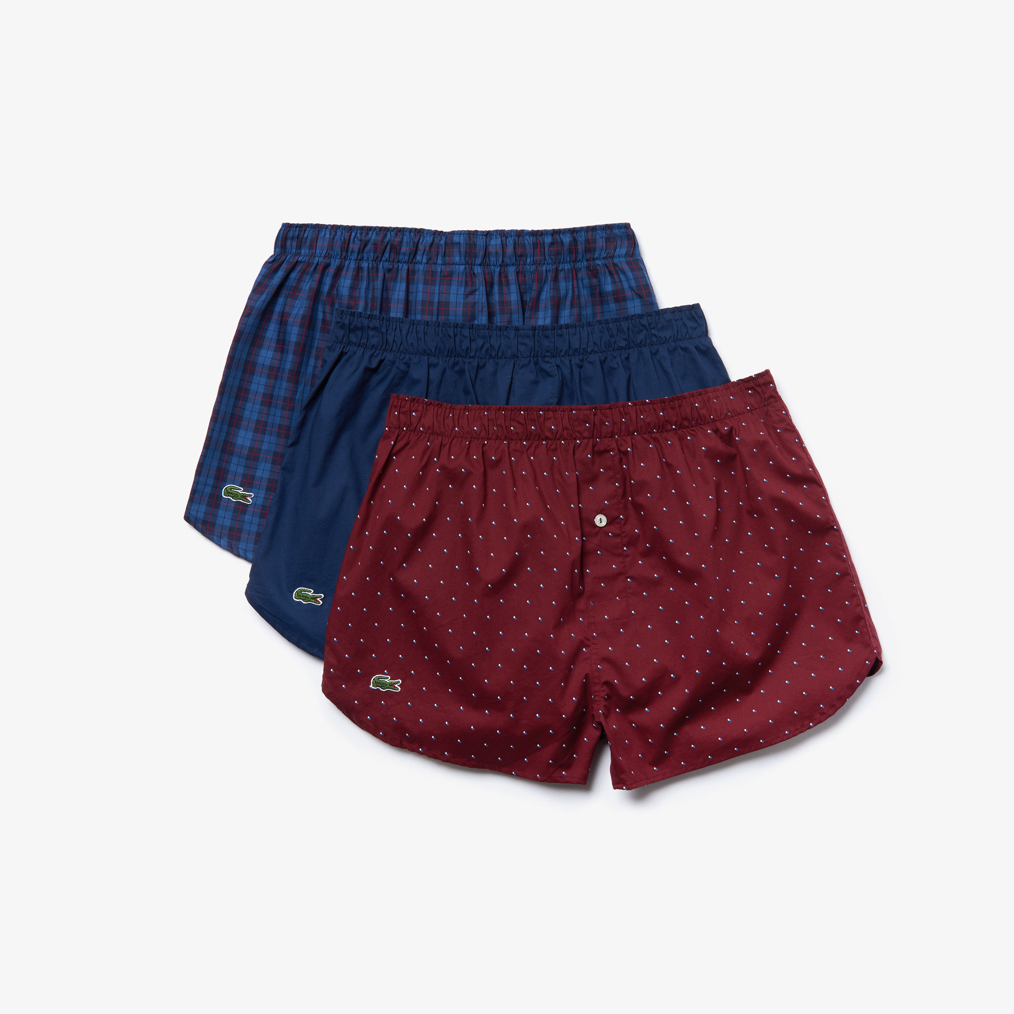 Pack of 3 Authentics fabric boxers