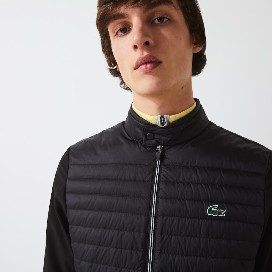 Men's Lacoste SPORT Lightweight Water-Resistant Quilted Golf Jacket