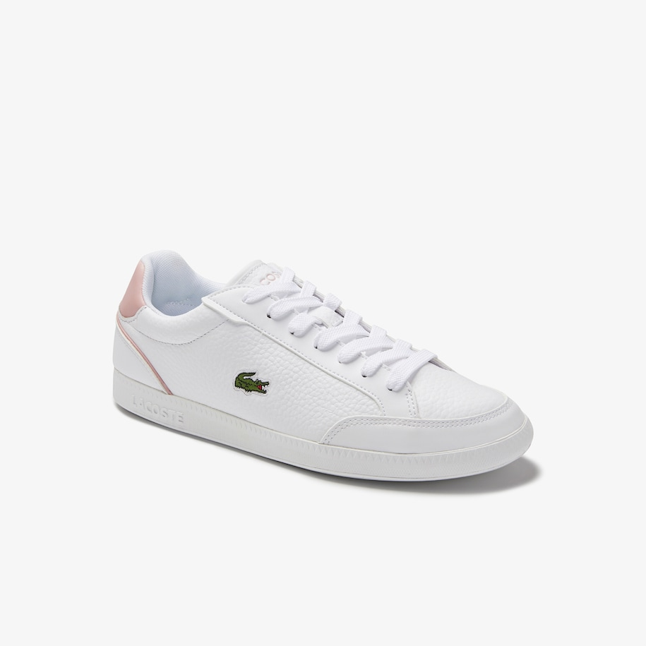Women's Graduate Cap Leather and Synthetic Trainers