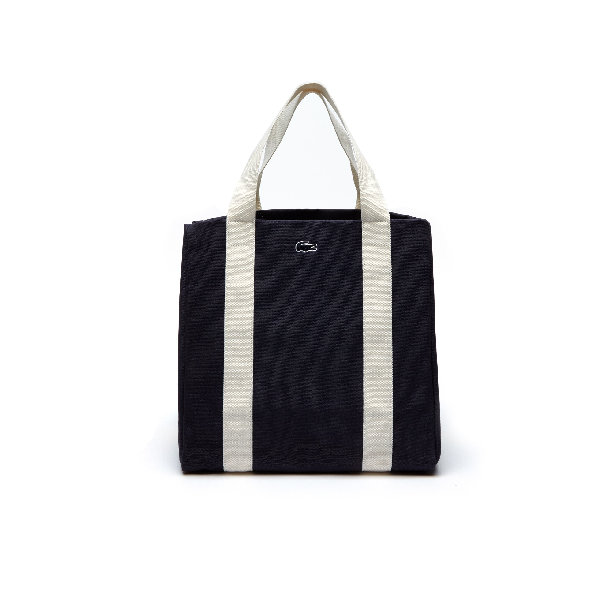 Women's Summer Colorblock Cotton Large Expandable Tote Bag