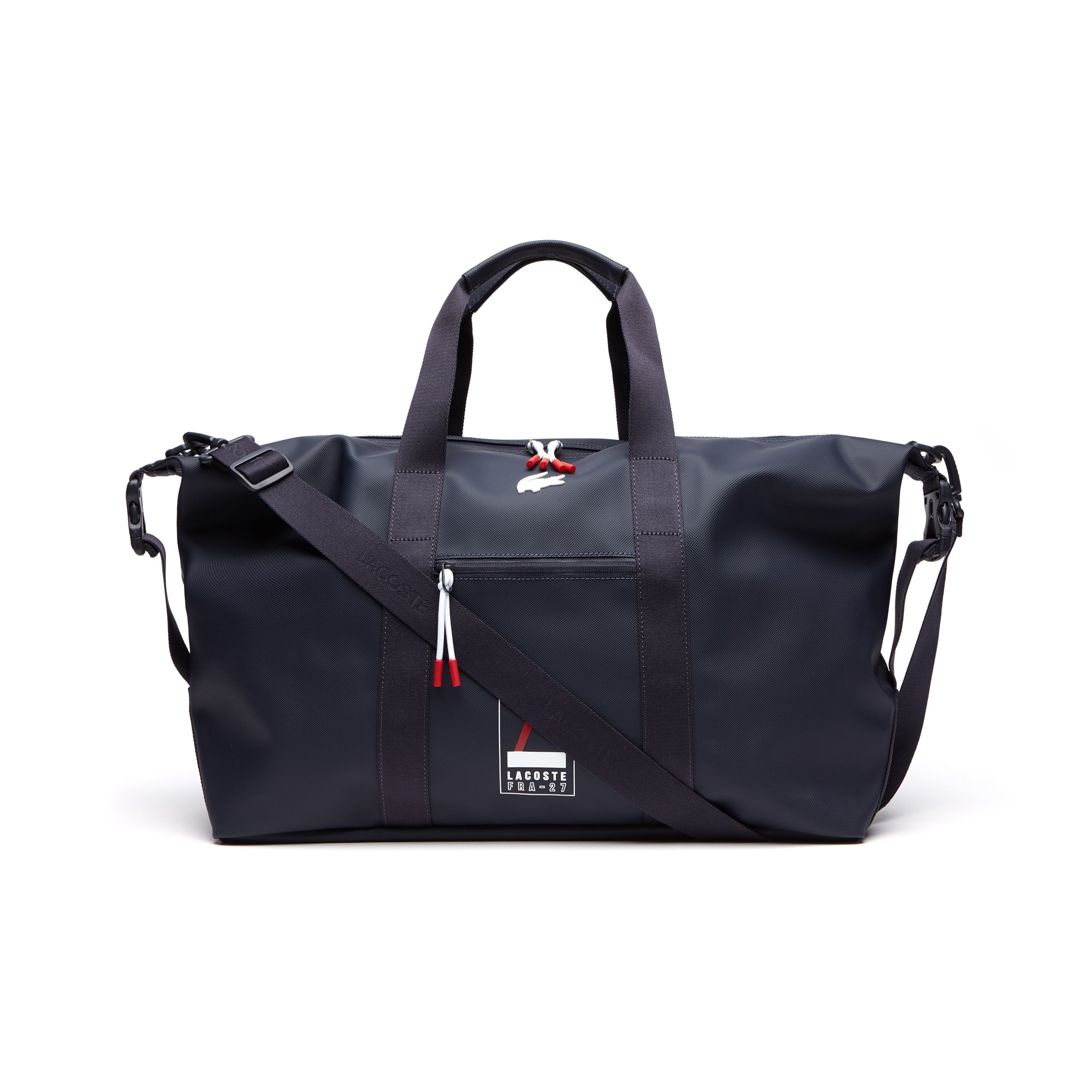 Men's L.12.12 Concept Lacoste Lettering Petit Piqué Weekend Bag