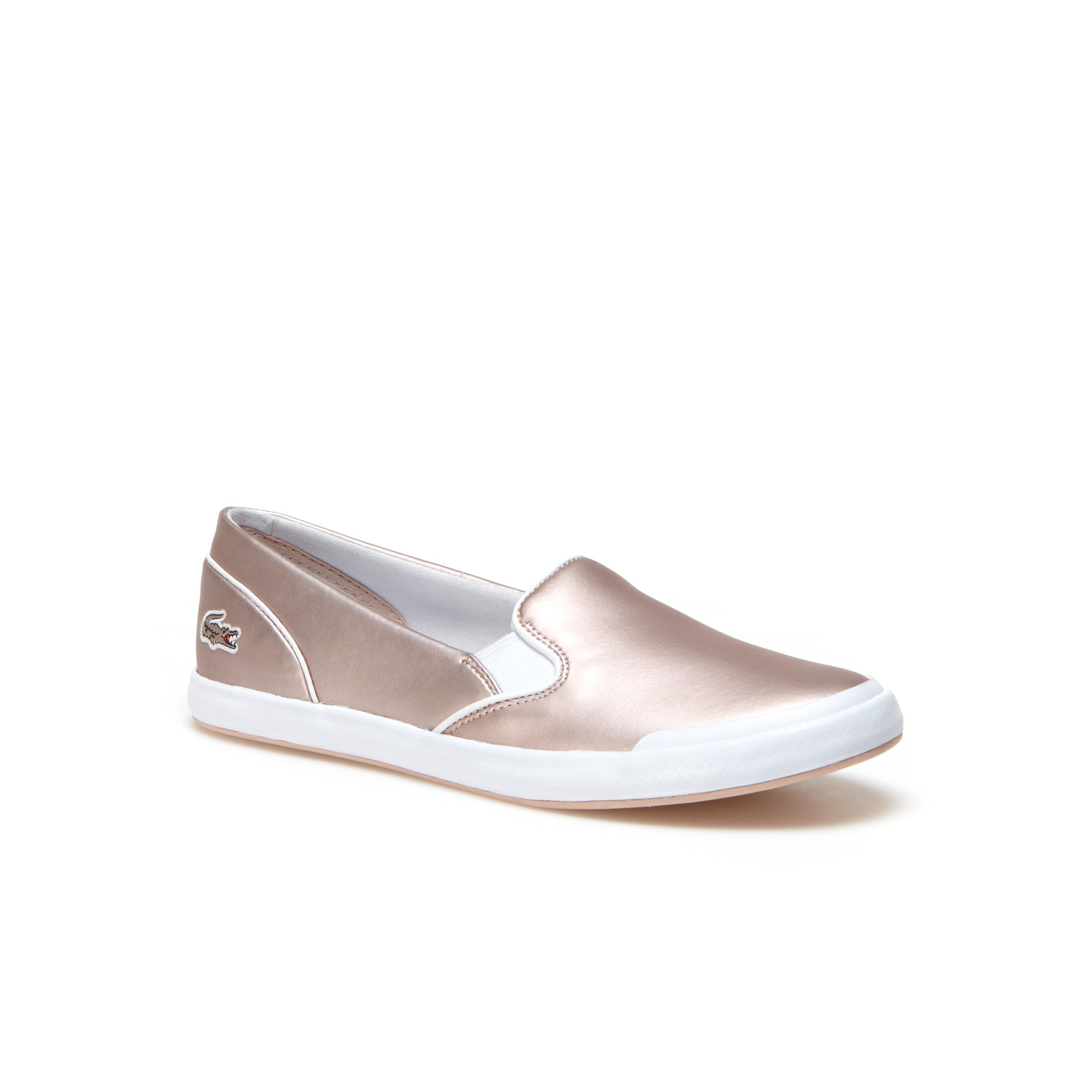 Women's Lancelle Slip-on Leather Trainers