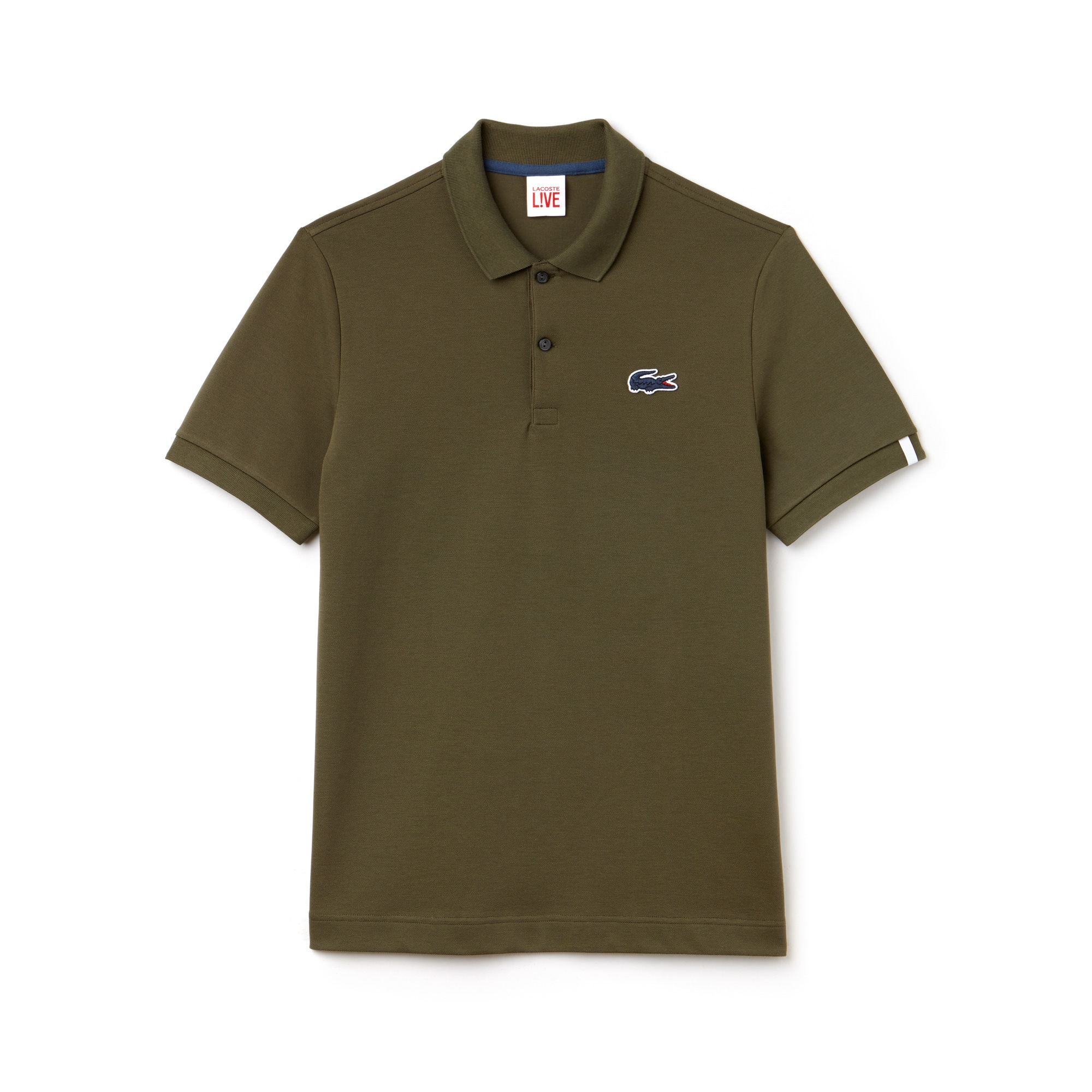 Men's Lacoste LIVE Slim Fit Stretch Mini Piqué Polo