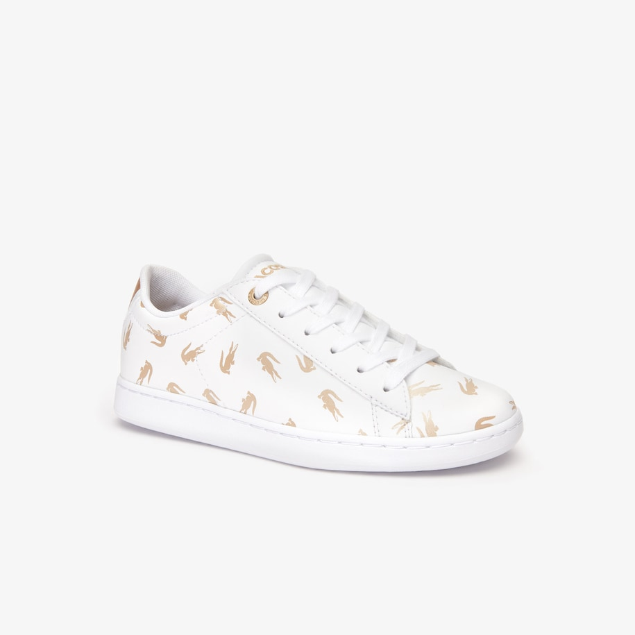 Children's Carnaby Evo Lace-up Metallic Synthetic Trainers