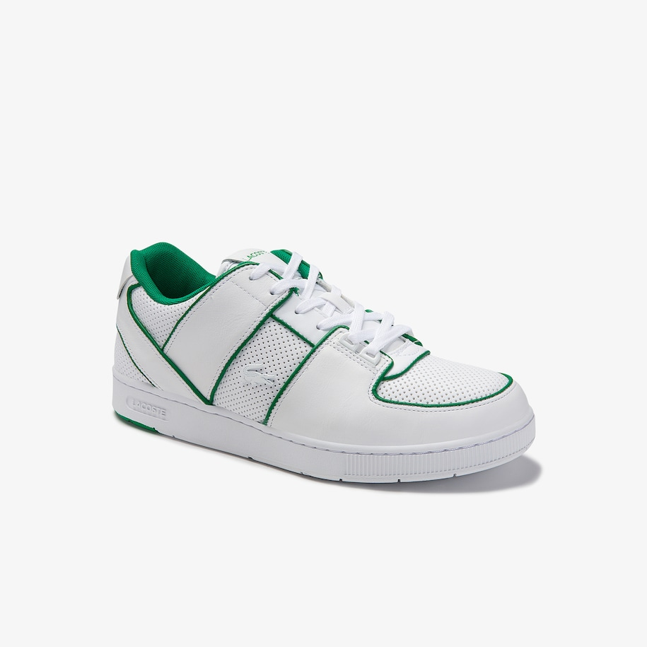 Men's Thrill Perforated Leather and Synthetic Trainers