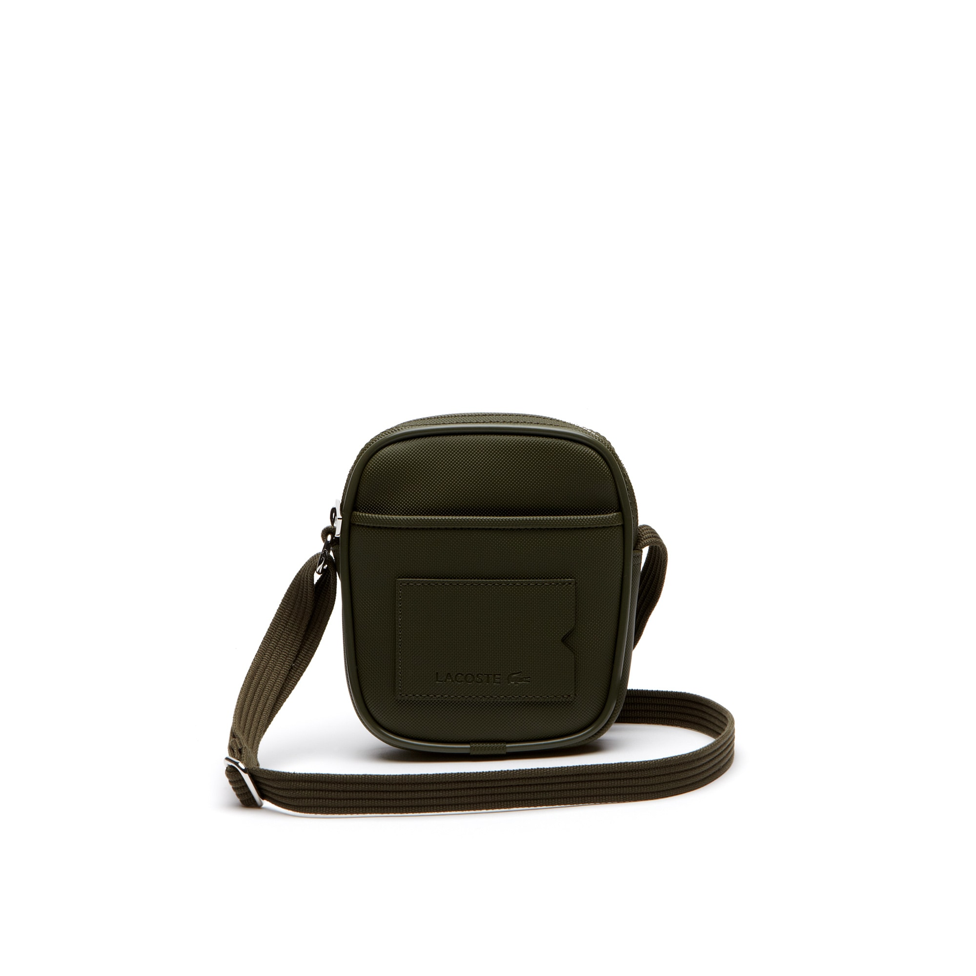 Men's classic small monochrome camera bag
